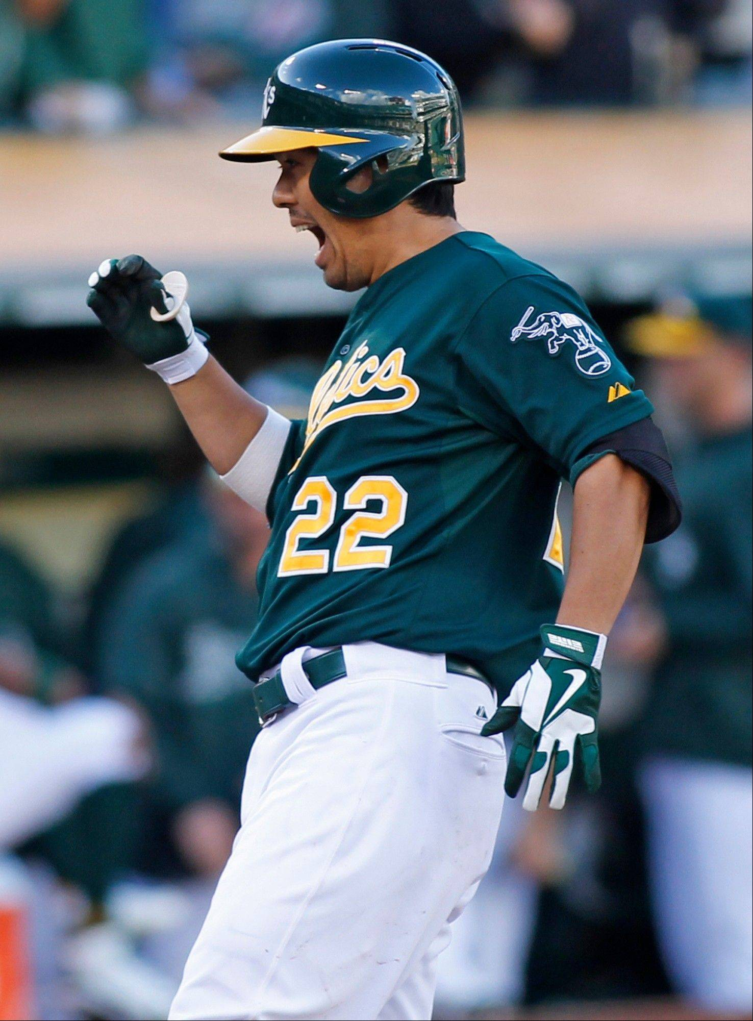 Catcher Kurt Suzuki hit .232 with five homers and 32 RBIs for the Washington Nationals and Oakland Athletics last season.