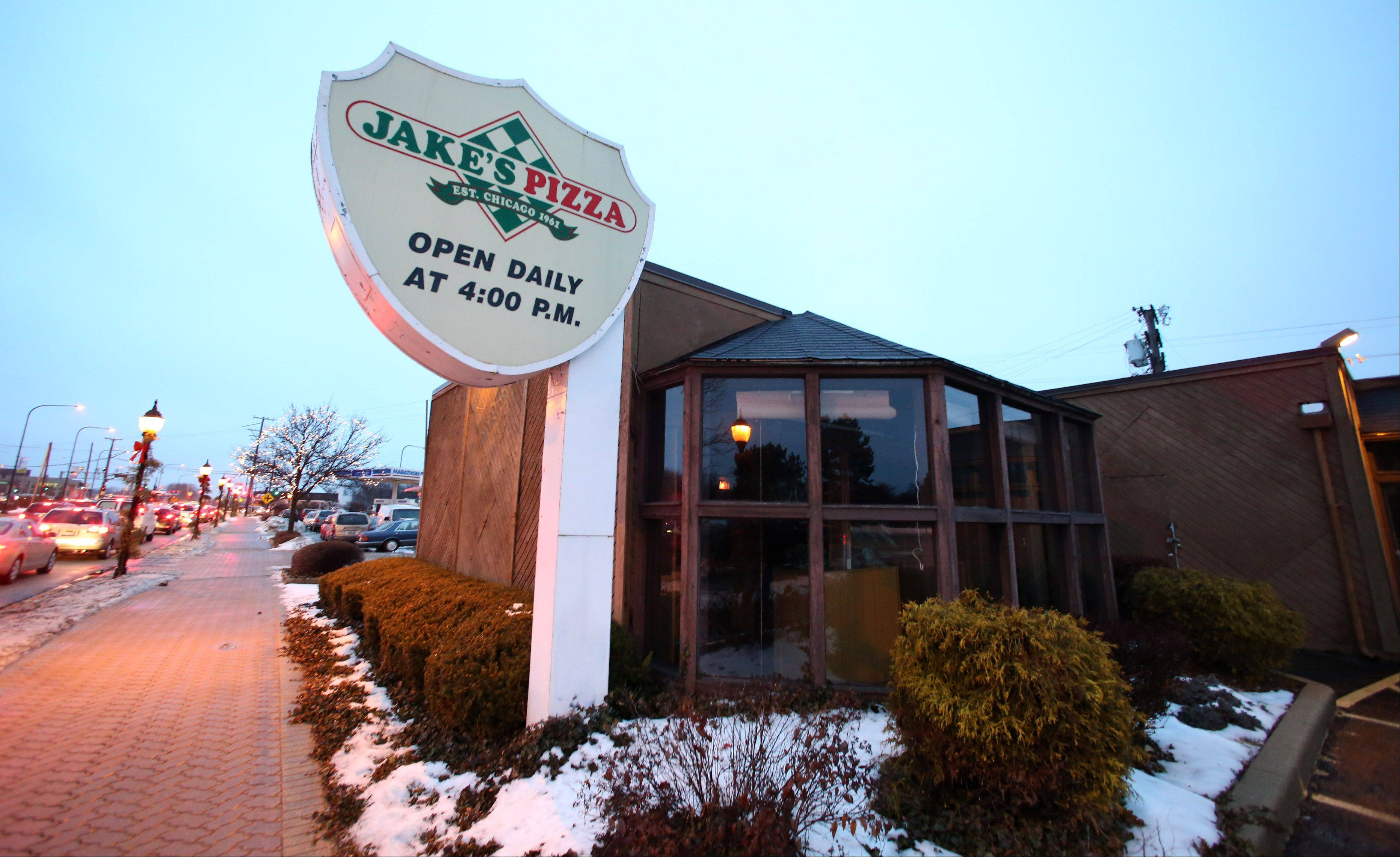 Jake's Pizza in Mount Prospect closed last summer, and now the liquor license it had will disappear with it.