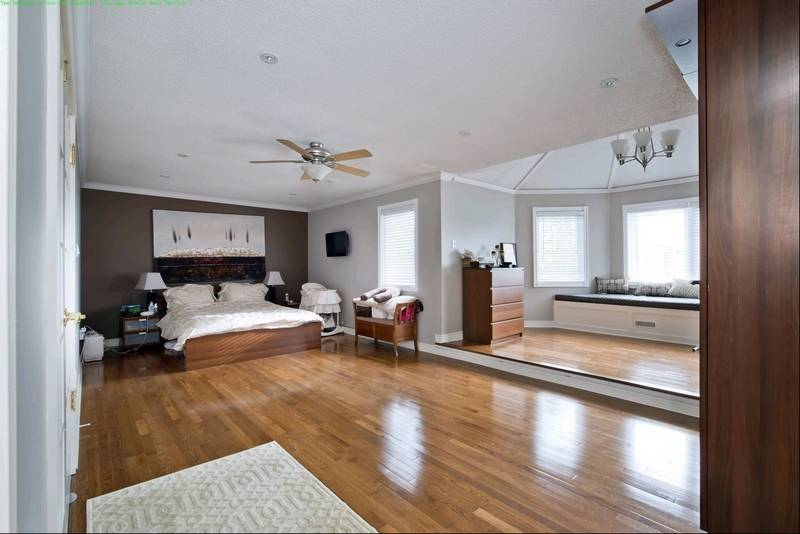 Fireplace Is Focal Point Of Master Bedroom Makeover