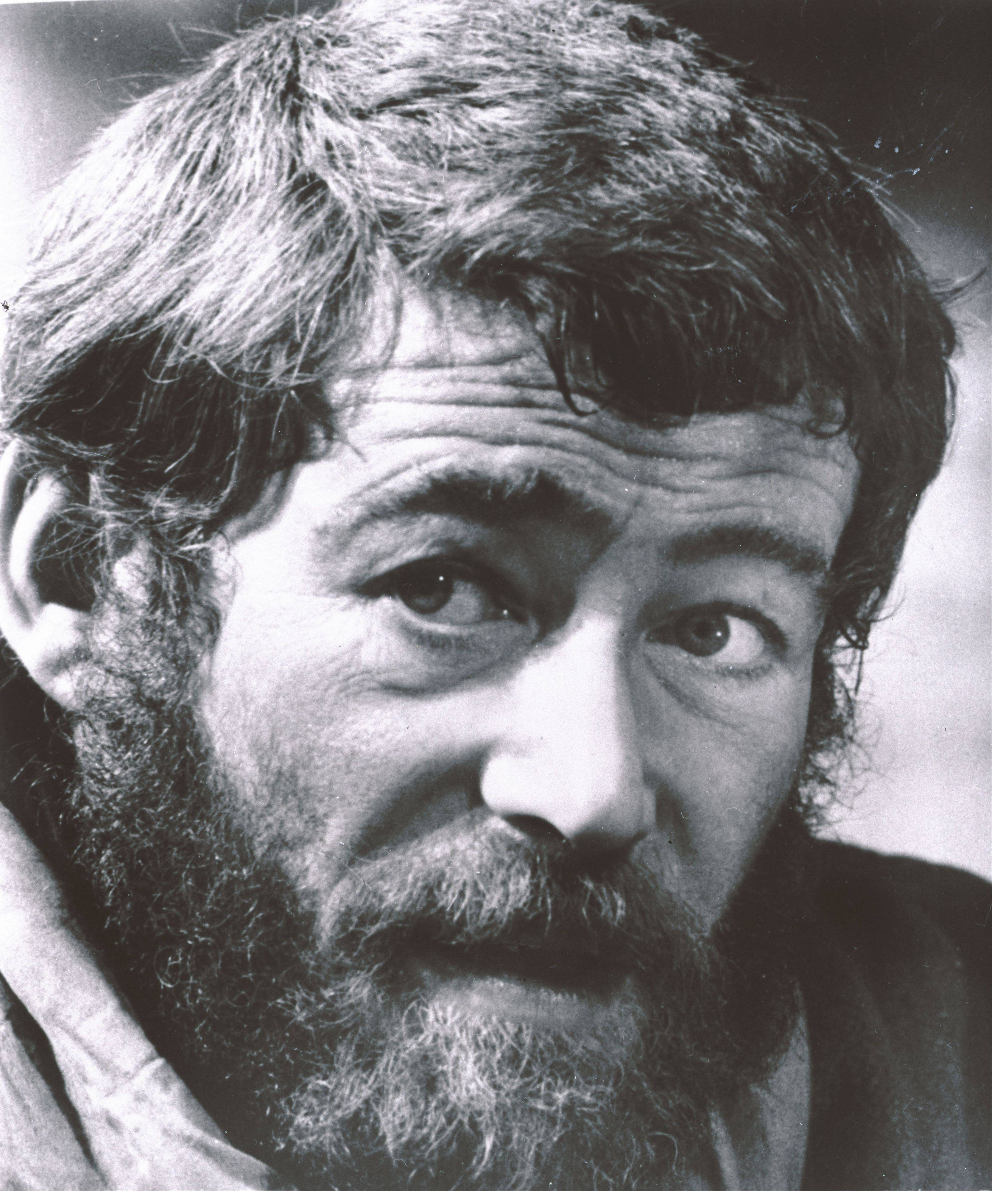"In this 1968 file photo, Actor Peter O'Toole is shown from the movie ""Lion in Winter."" O'Toole, the charismatic actor who achieved instant stardom as Lawrence of Arabia and was nominated eight times for an Academy Award, has died. He was 81. O'Toole's agent Steve Kenis says the actor died Saturday, Dec. 14, 2013 at a hospital following a long illness."