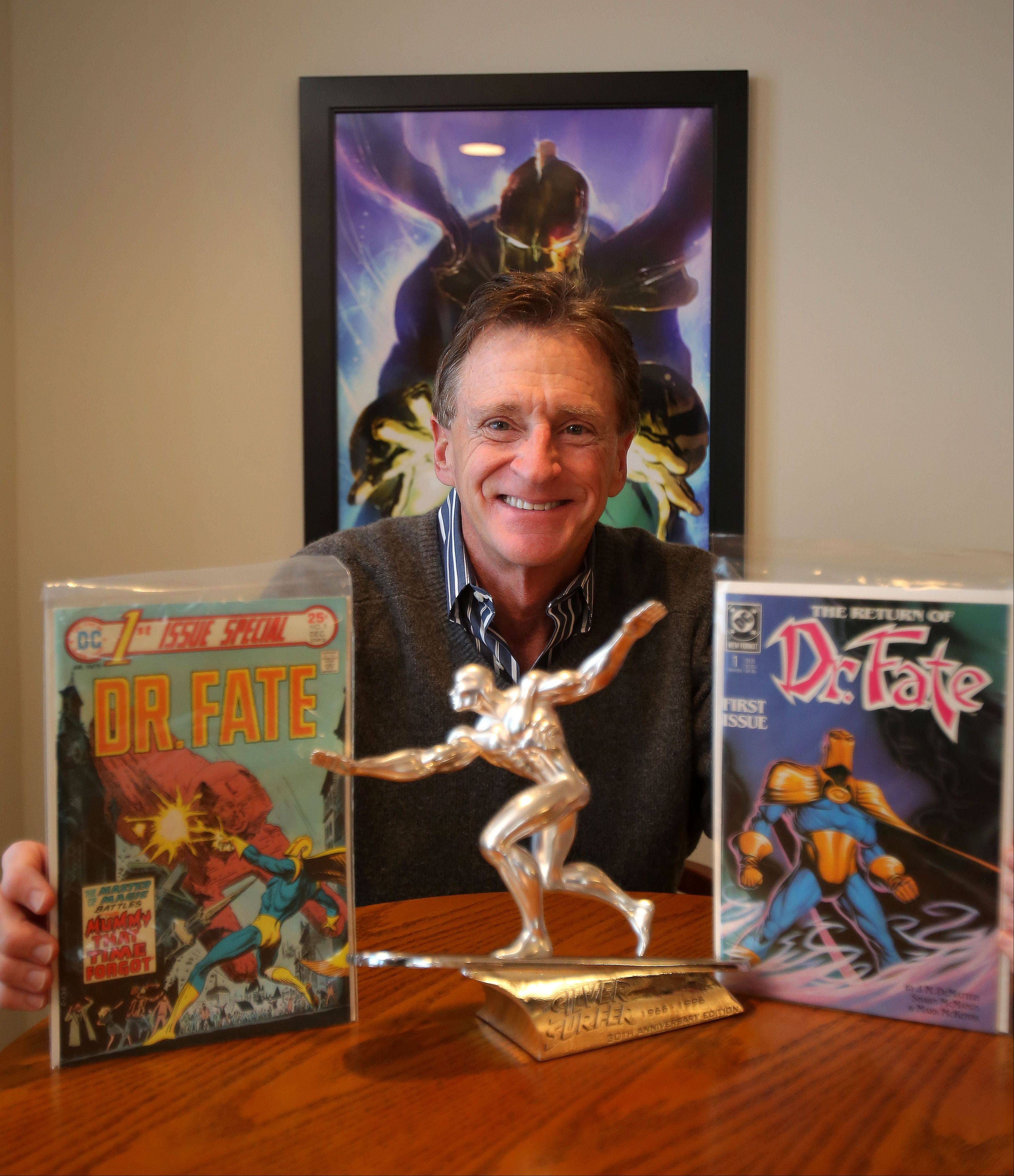 Steven Landman of Kildeer has auctioned a portion of his comic book collection. Landman suffers from a rare autoimmune disease and the money will help with medical expenses.
