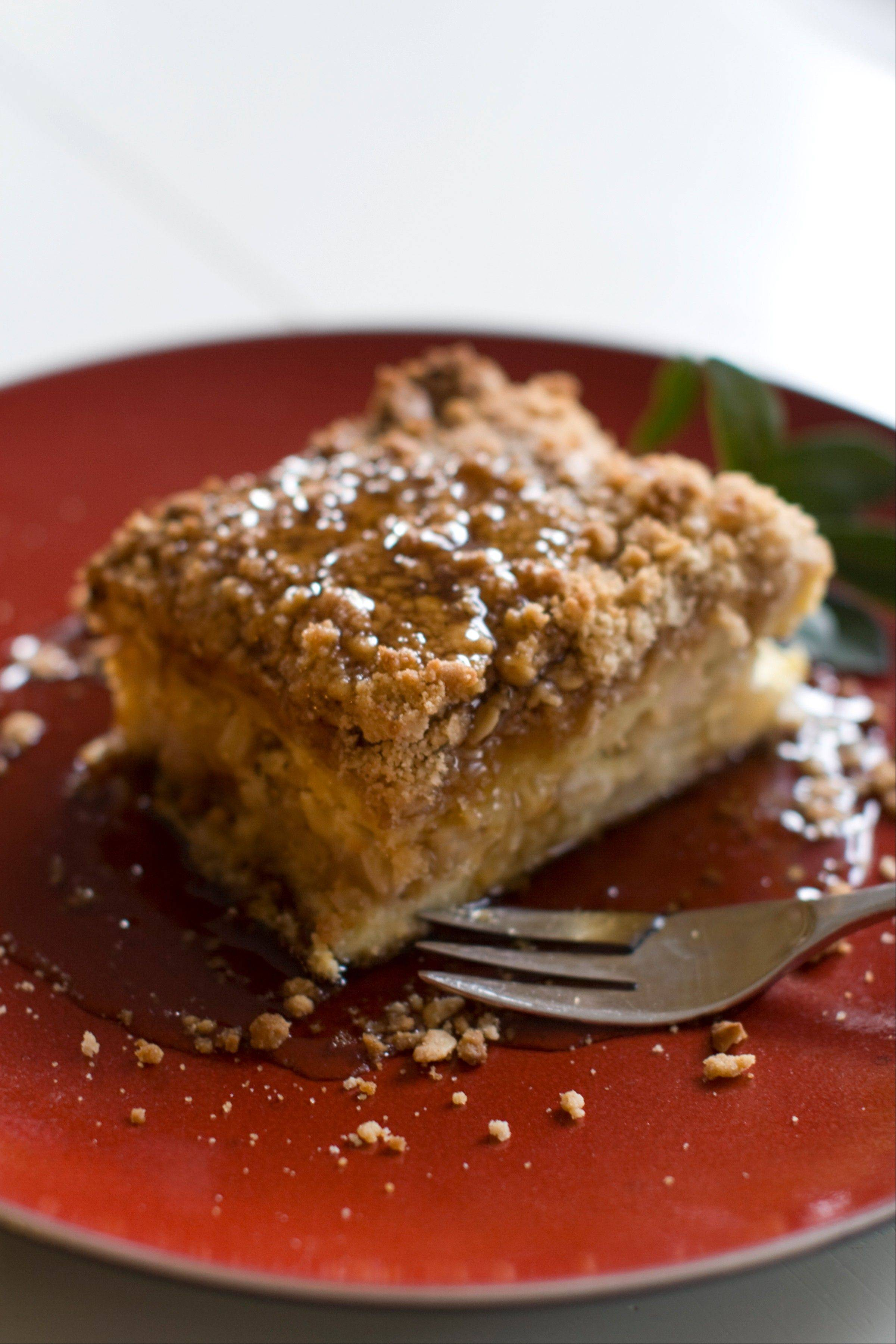French toast Hash Crumble Casserole