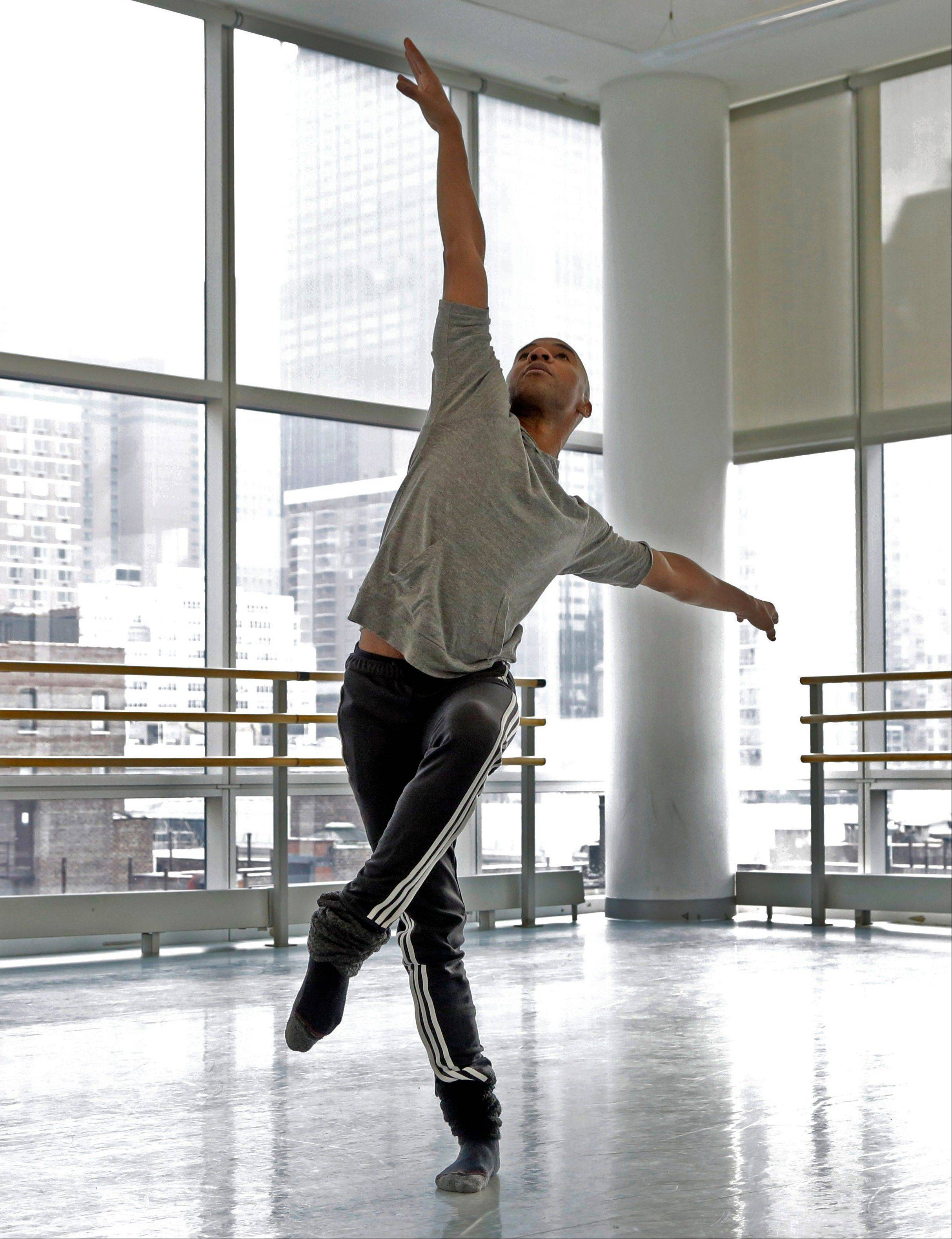 """I knew this was where I was going to be,"" says dancer Matthew Rushing, 38, a veteran star of the Alvin Ailey Dance Theater."
