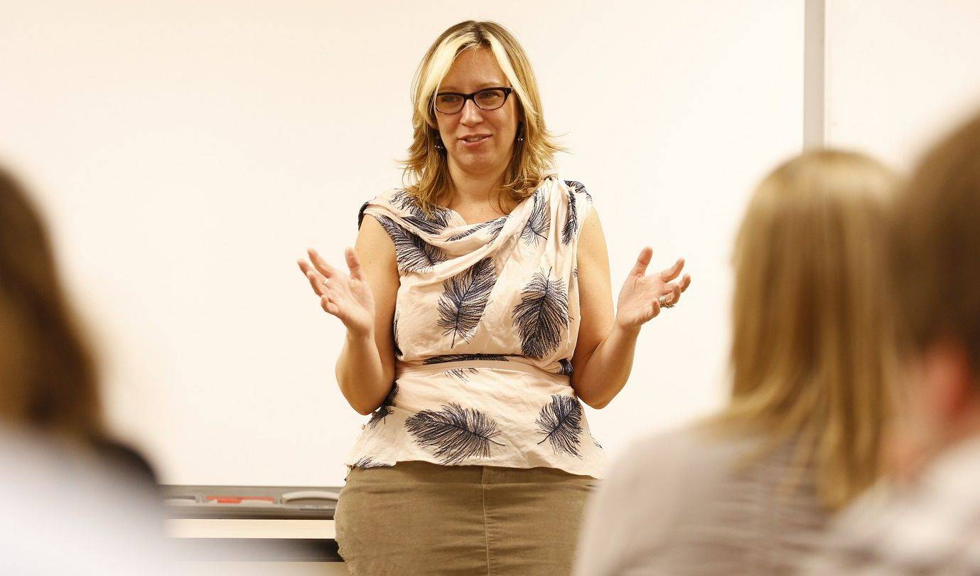 "Rachel Louise Snyder, a 1992 graduate of North Central College, returned to campus in May to speak to students about her work as an international correspondent and tenure-track professor at American University in Washington. Snyder will be in Naperville again Jan. 28 to read from her first novel, ""What We've Lost is Nothing."""