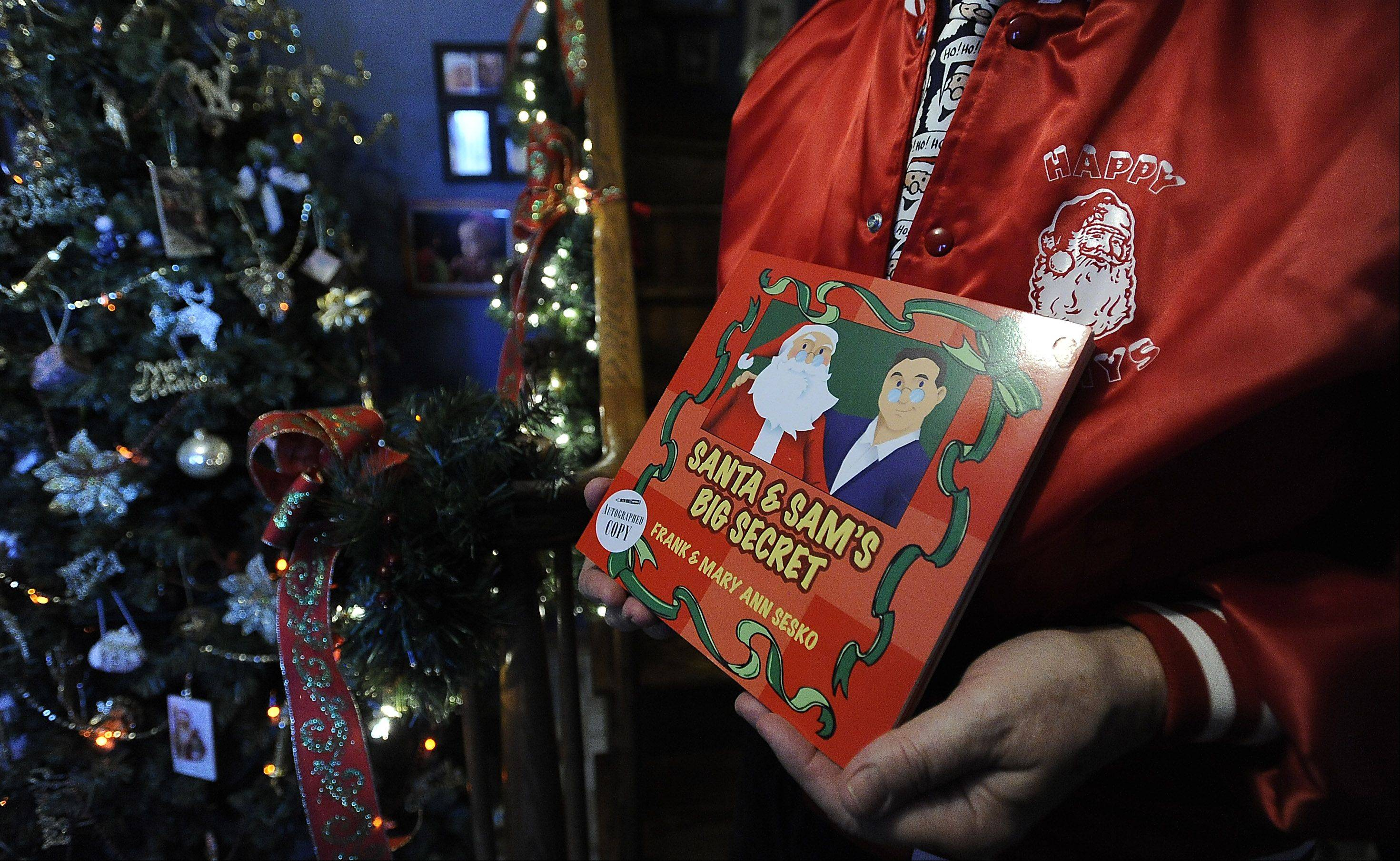"Frank and Mary Ann Sesko wrote a children's book called ""Santa and Sam's Big Secret,"" and now they are seeking stories about favorite memories of Santa Claus."
