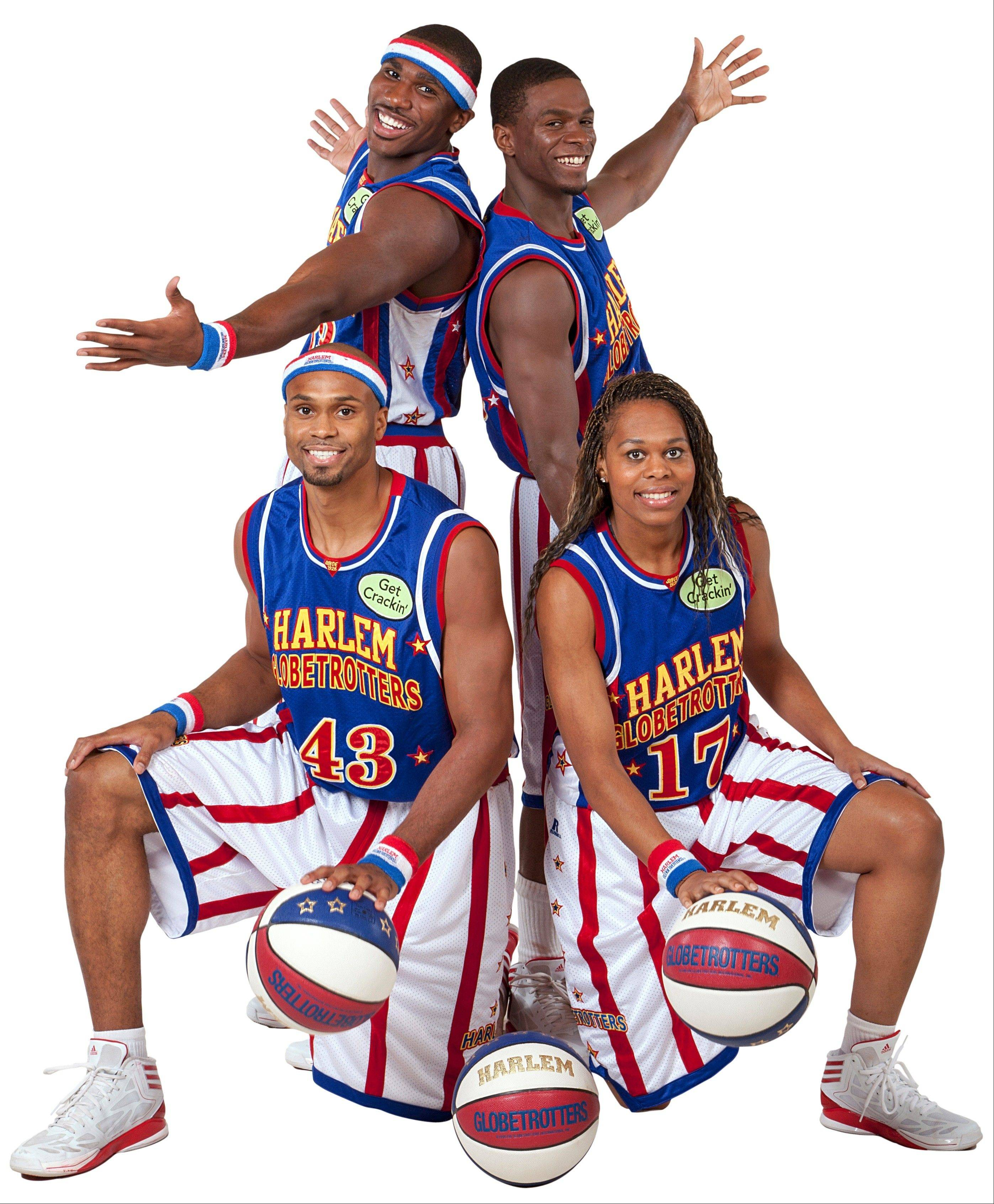 The Harlem Globetrotters play two exhibition games Friday, Dec. 27, at the Allstate Arena in Rosemont.