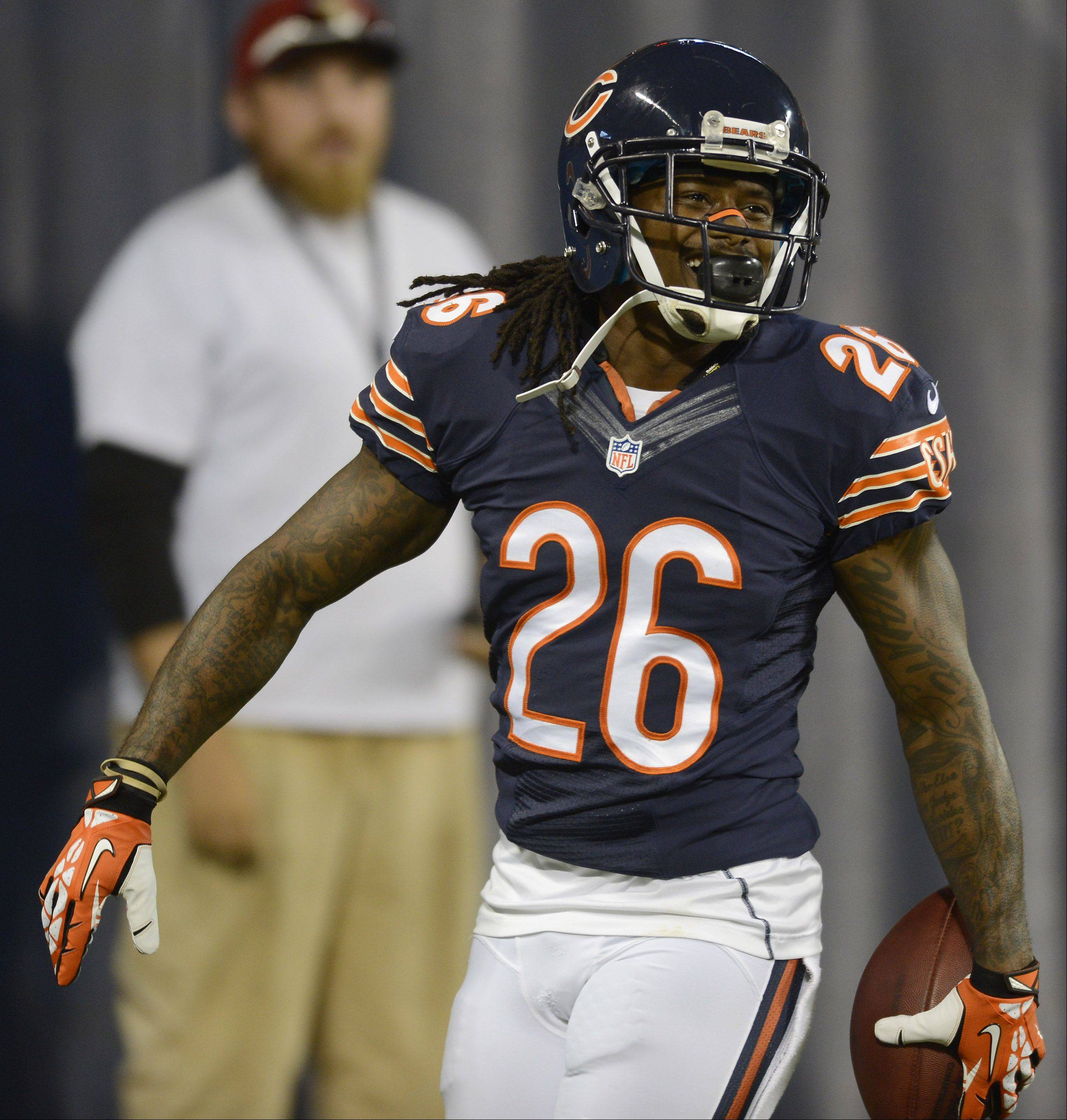 Although he didn't make the Pro Bowl this year, Bears cornerback Tim Jennings had 4 interceptions and played solidly down the stretch to earn a new contract.