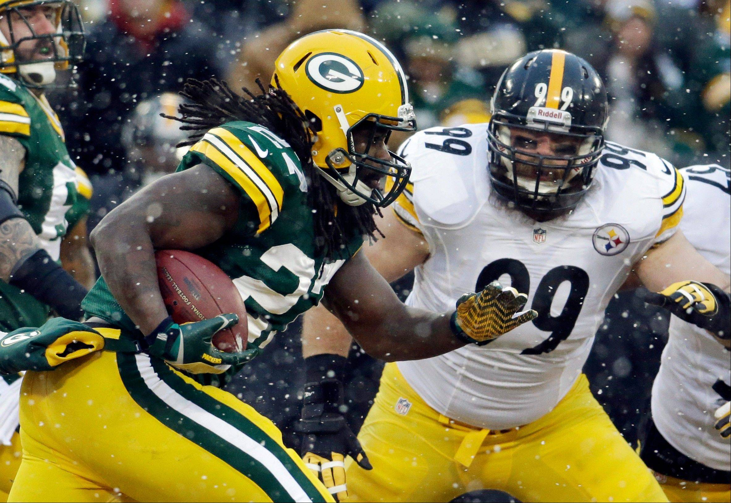 The Packers� Eddie Lacy, if he is able to play Sunday, could pose another big threat to the struggling Bears defense.