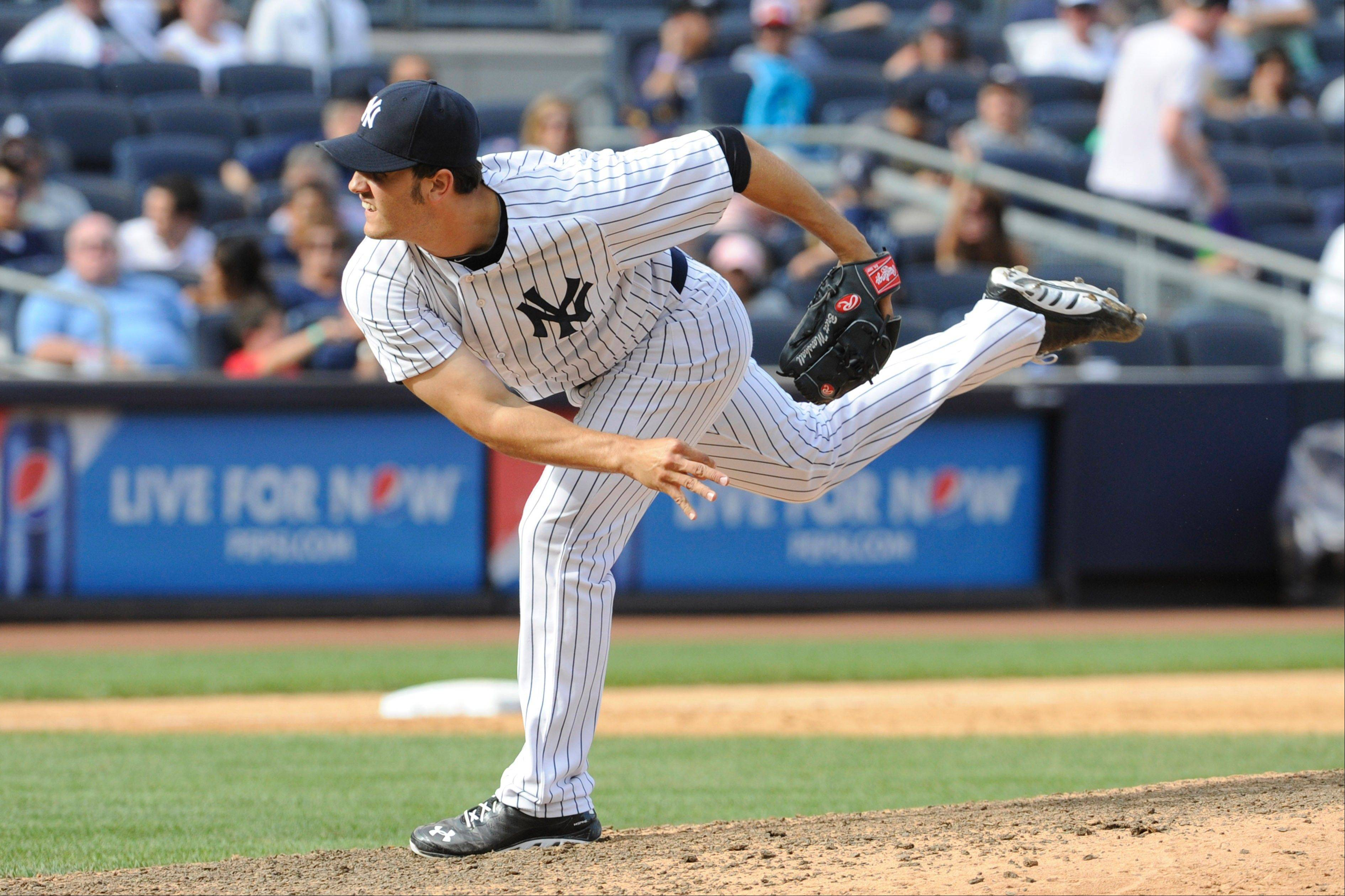 The Cubs have claimed 23-year-old pitcher Brett Marshall from the New York Yankees.