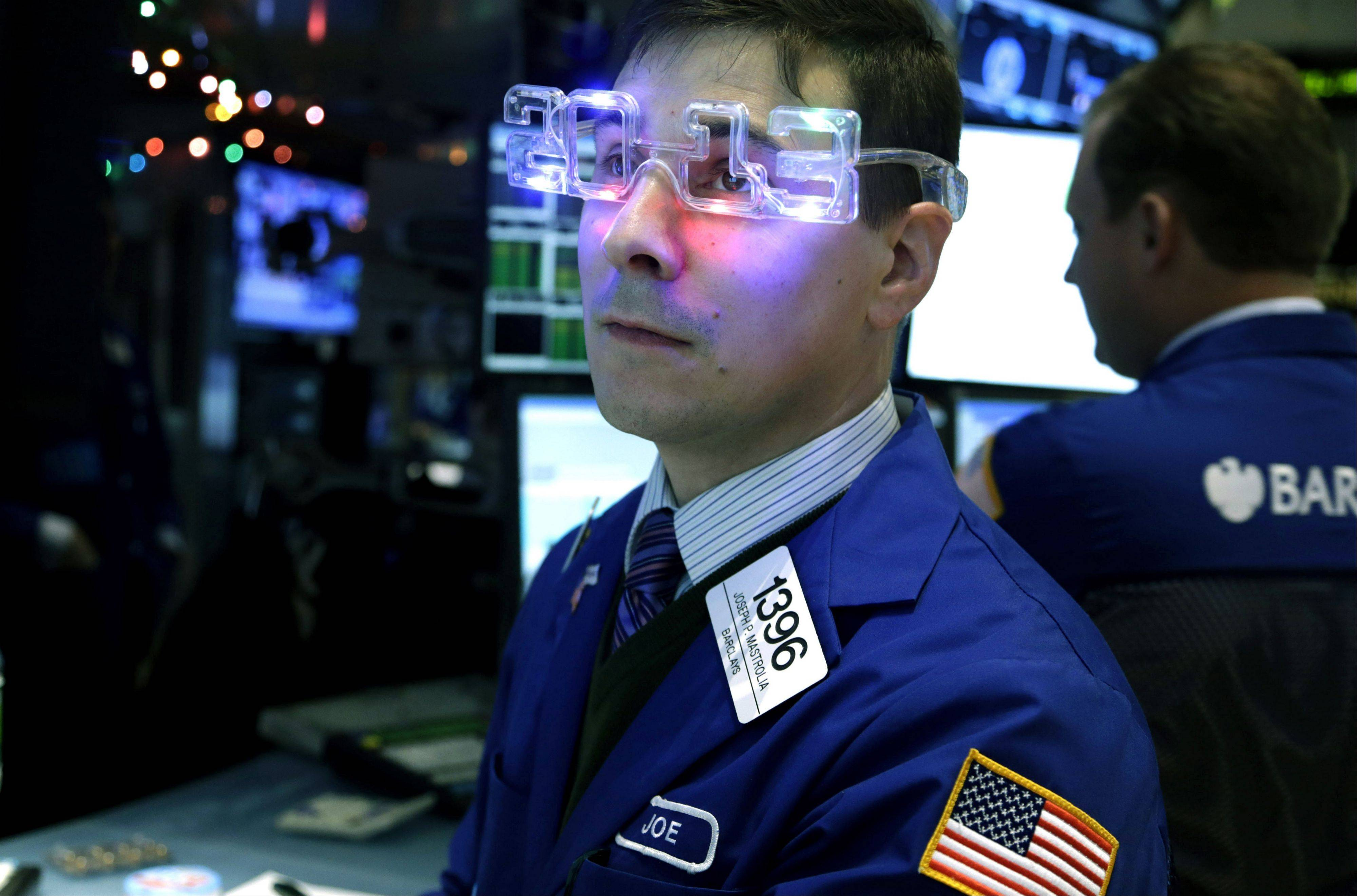 U.S. stocks rose Monday, with benchmark indexes extending all-time highs, as Apple Inc. rallied and the International Monetary Fund indicated it would raise its outlook for the economy.
