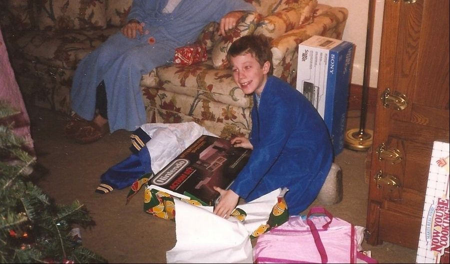 On Christmas morning in Batavia in 1988, TV and movie writer Kevin Jakubowski unwraps the best gift he ever got, an 8-bit Nintendo Entertainment System.