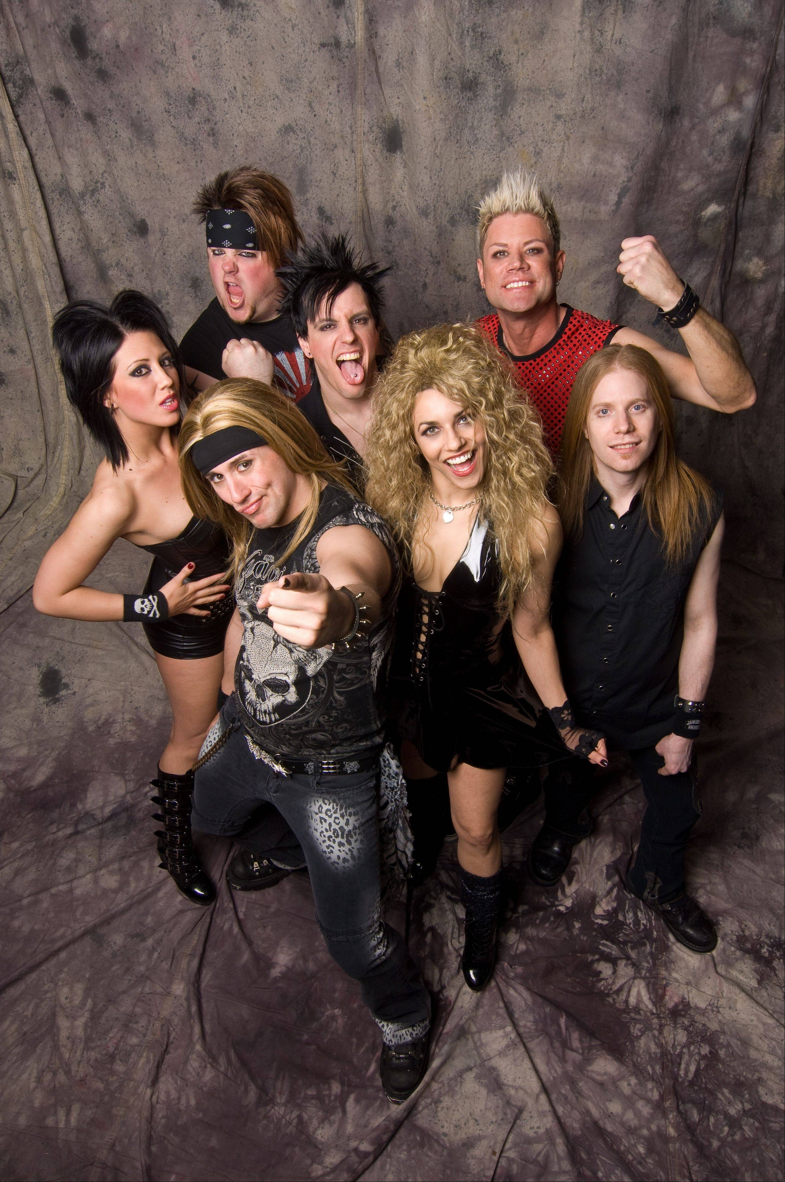 Hairbangers Ball performs at Durty Nellie's in Palatine on Saturday, Dec. 28.