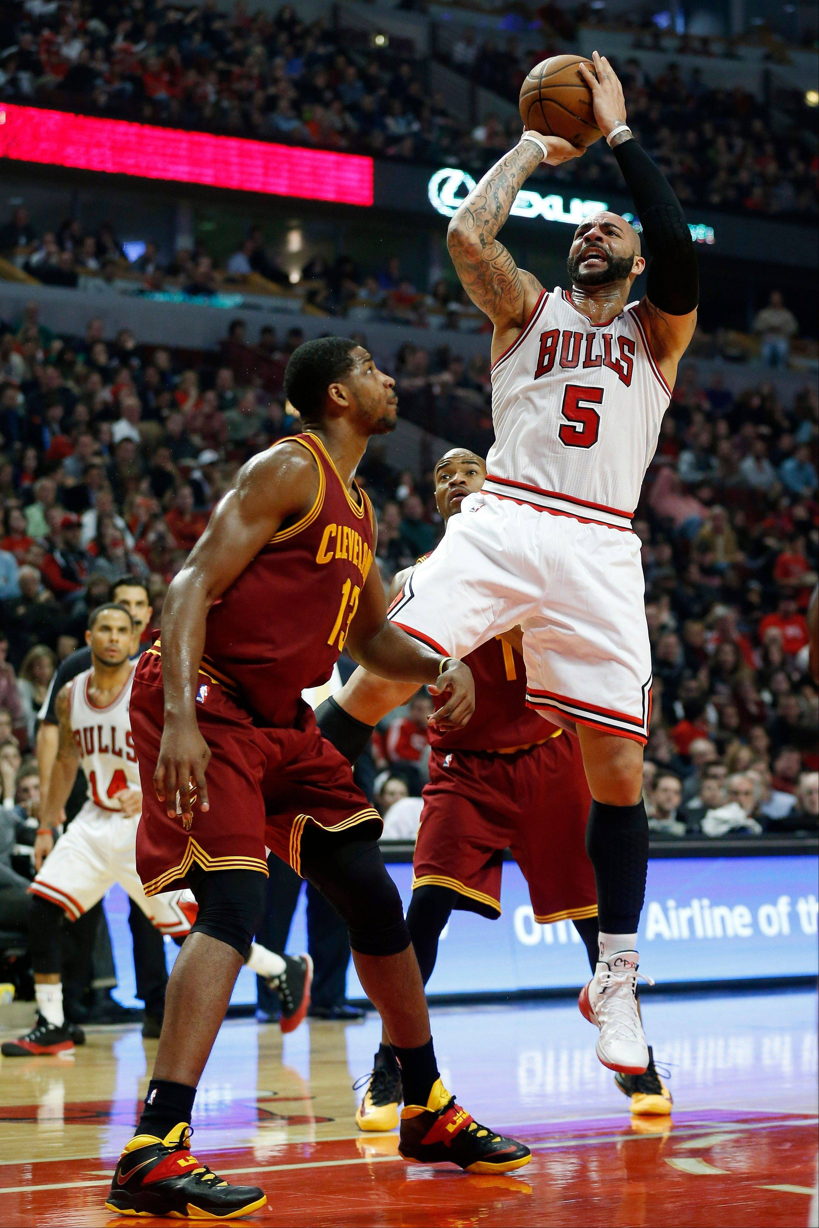 Carlos Boozer and the Bulls will shoot for Christmas Day victory over the Brooklyn Nets on Wednesday. It's the opener of a five-game holiday gift from the NBA.