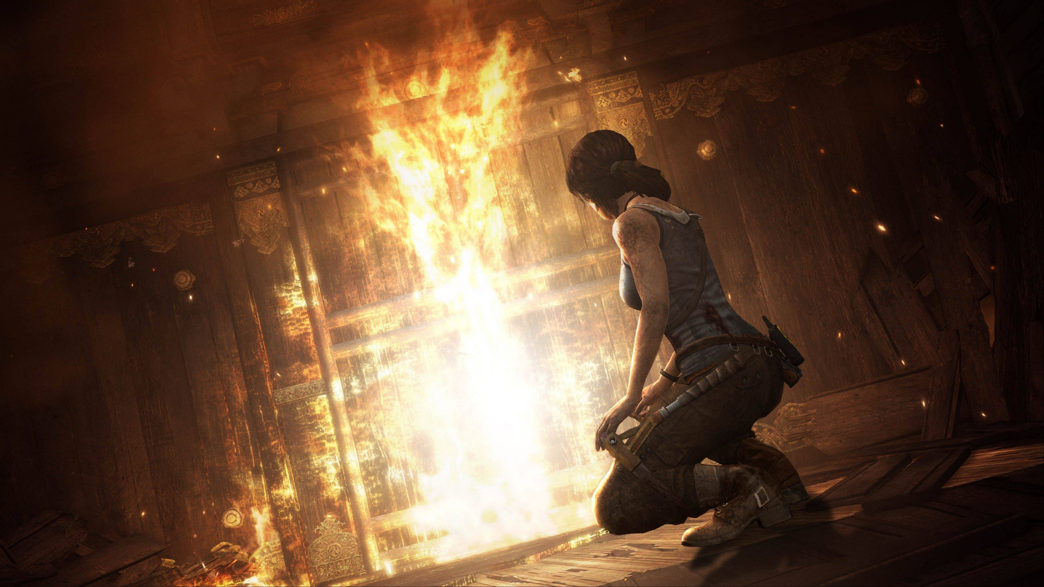 "Lara Croft transcends her status as merely a video-game vixen in the intense origin story ""Tomb Raider."""