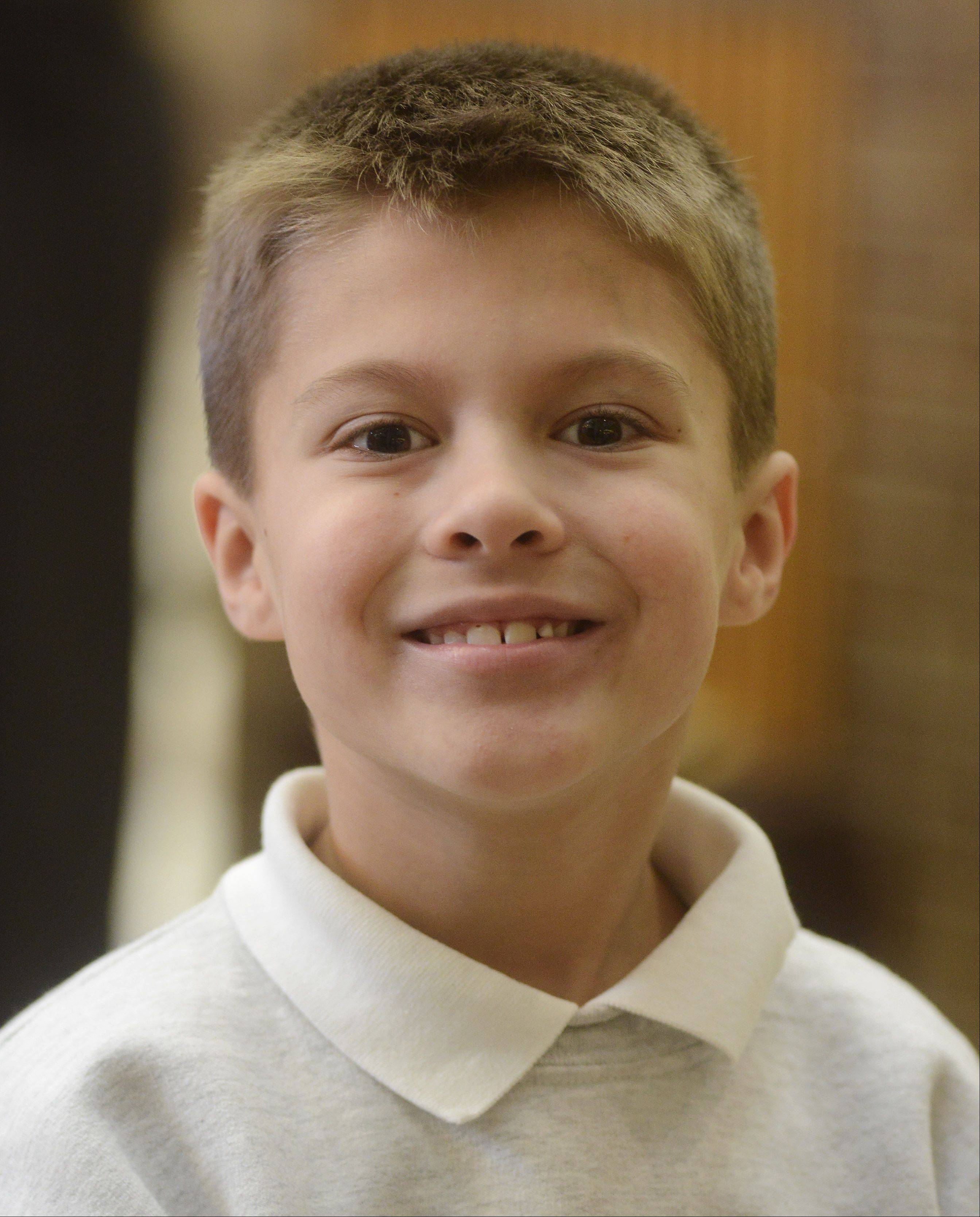 "JOE LEWNARD/jlewnard@dailyherald.comJack Heider, 8, Bartlett.""I want a CAT excavator, and a model carnival ride, and a Bubblemate car wash."""