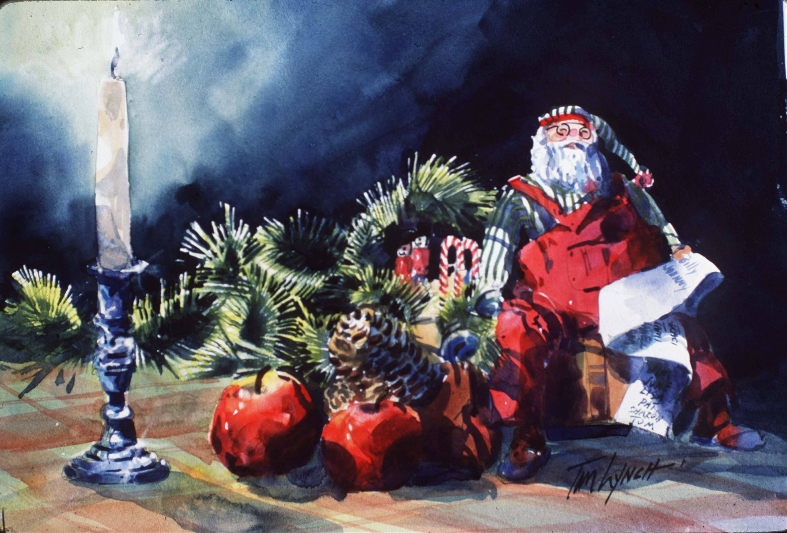 Images: Tom Lynch Christmas Day paintings