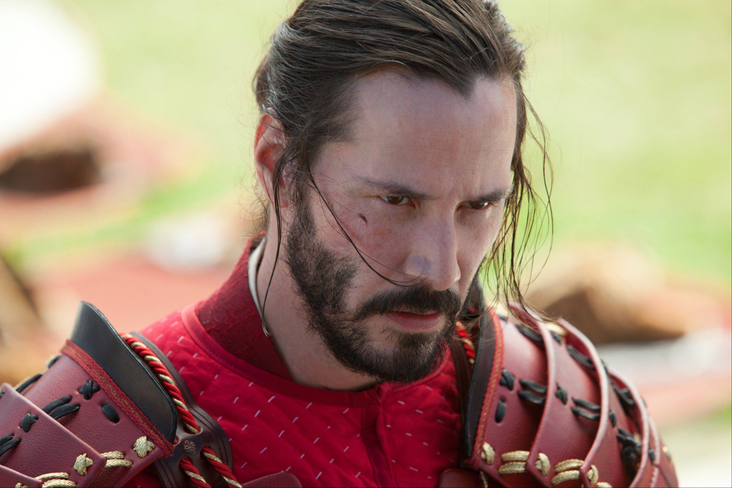 "Keanu Reeves stars in ""47 Ronin."""