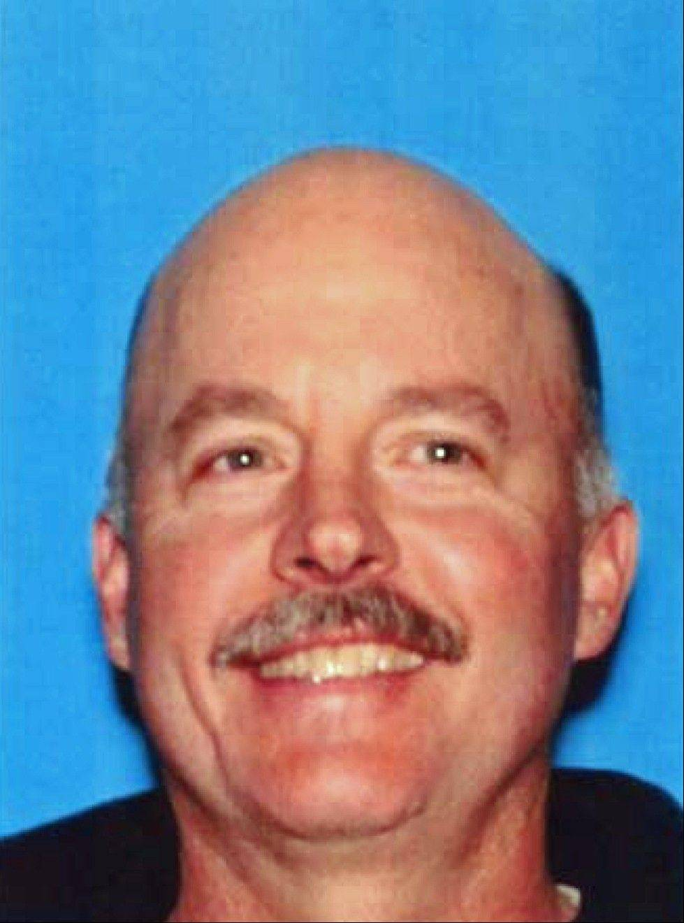 This photo provided by the California Department of Motor Vehicles via the Reno Gazette-Journal and KXTV News 10 shows Alan Frazier. Frazier, who complained he had a botched 2010 surgery, left a suicide note outlining plans for his attack before targeting physicians in a deadly rampage at a medical office that left one doctor dead and another critically wounded, police said Thursday, Dec. 19, 2013.