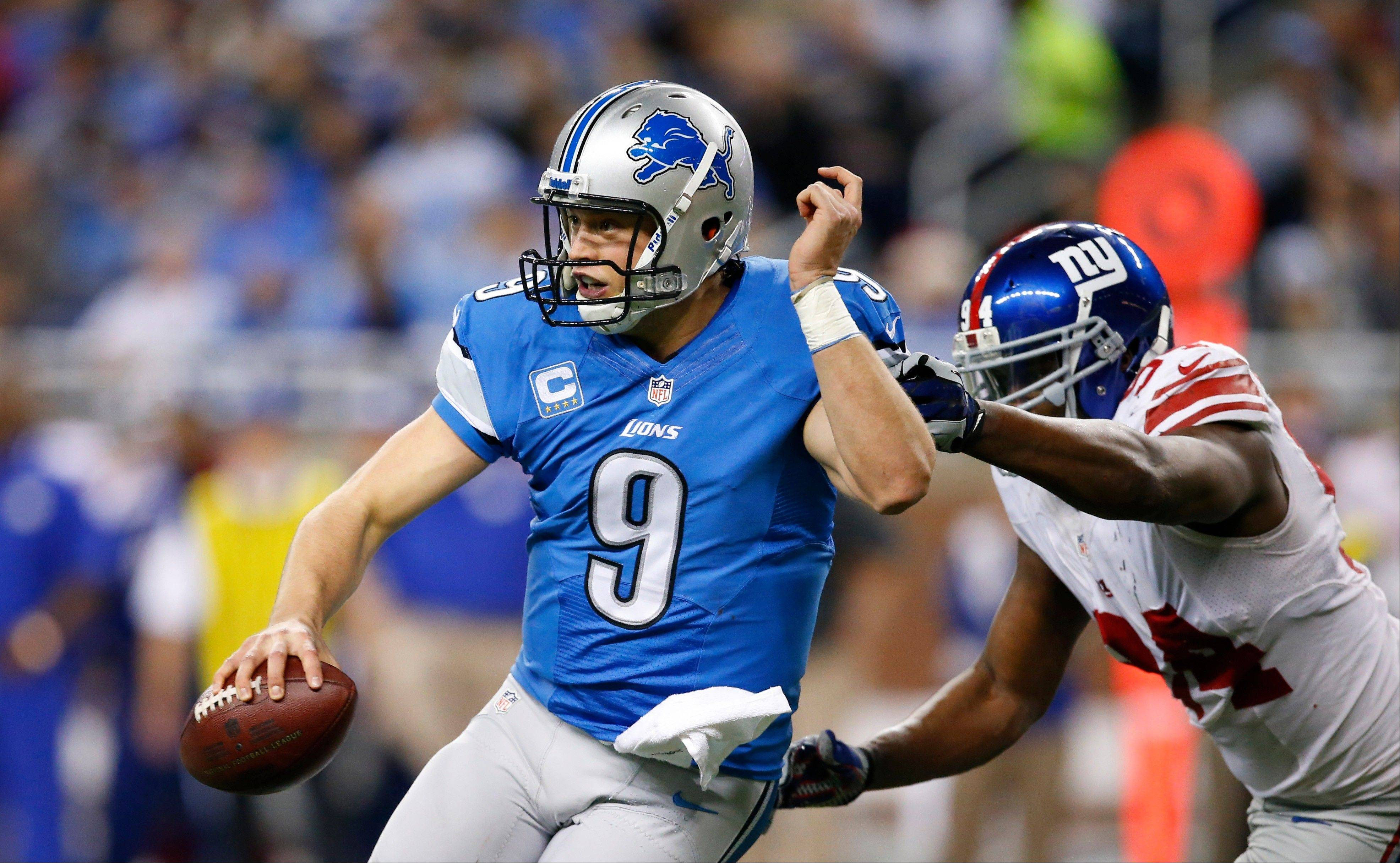 Detroit Lions quarterback Matthew Stafford has an NFL-worst 14 turnovers since Week 11.