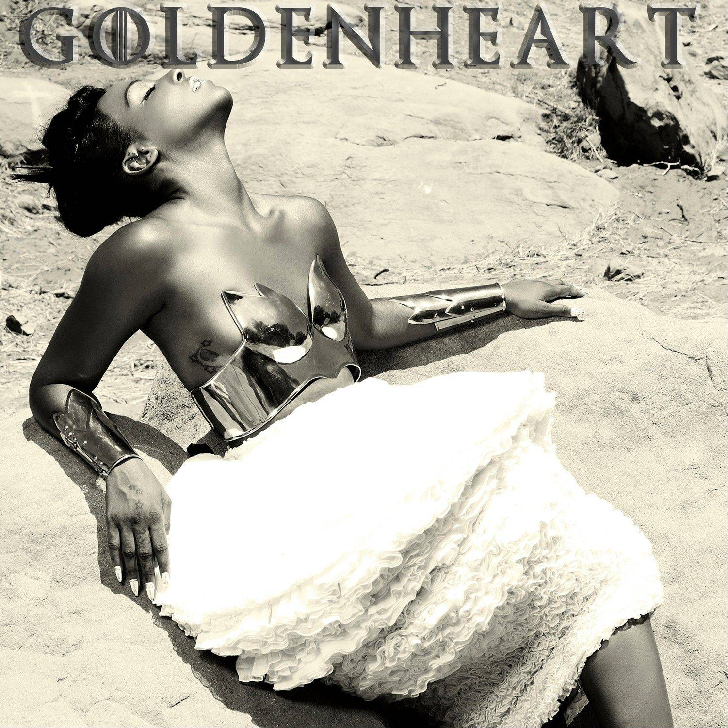 "This CD cover image released by 101 Distribution shows ""Goldenheart,"" by Dawn Richard. While Danity Kaneís reunion is somewhat exciting, Richards solo project was electrifying. The singer, who was also part of the Diddy-Dirty Money trio, is in perfect form on ìGoldenheart, î where she explores various R&B and pop sounds, including beats that are electronic, smooth and downtempo."