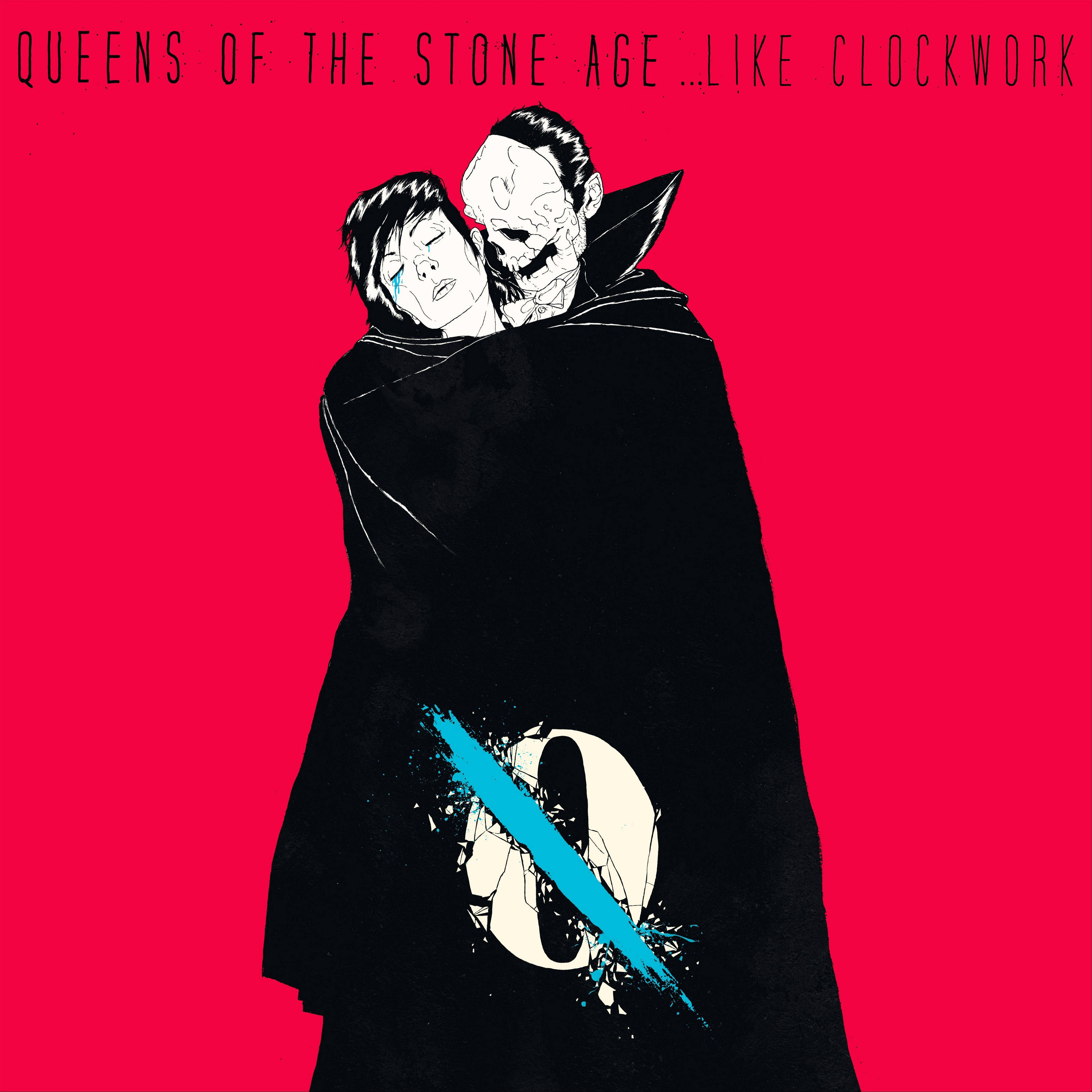 "This CD cover image released by Matador Records shows ""Like Clockwork,"" by Queens of the Stone Age. Homme turned in one of his most nuanced, thoughtful and emotionally powerful albums with this melancholy examination of mortality in what was otherwise a tepid year for rock 'n' roll."