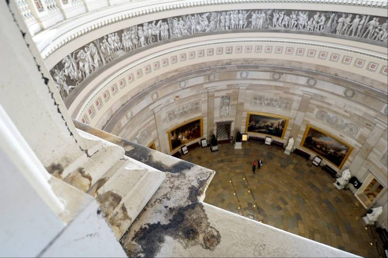 Capitol S Historic Dome Set For 2 Year Renovation