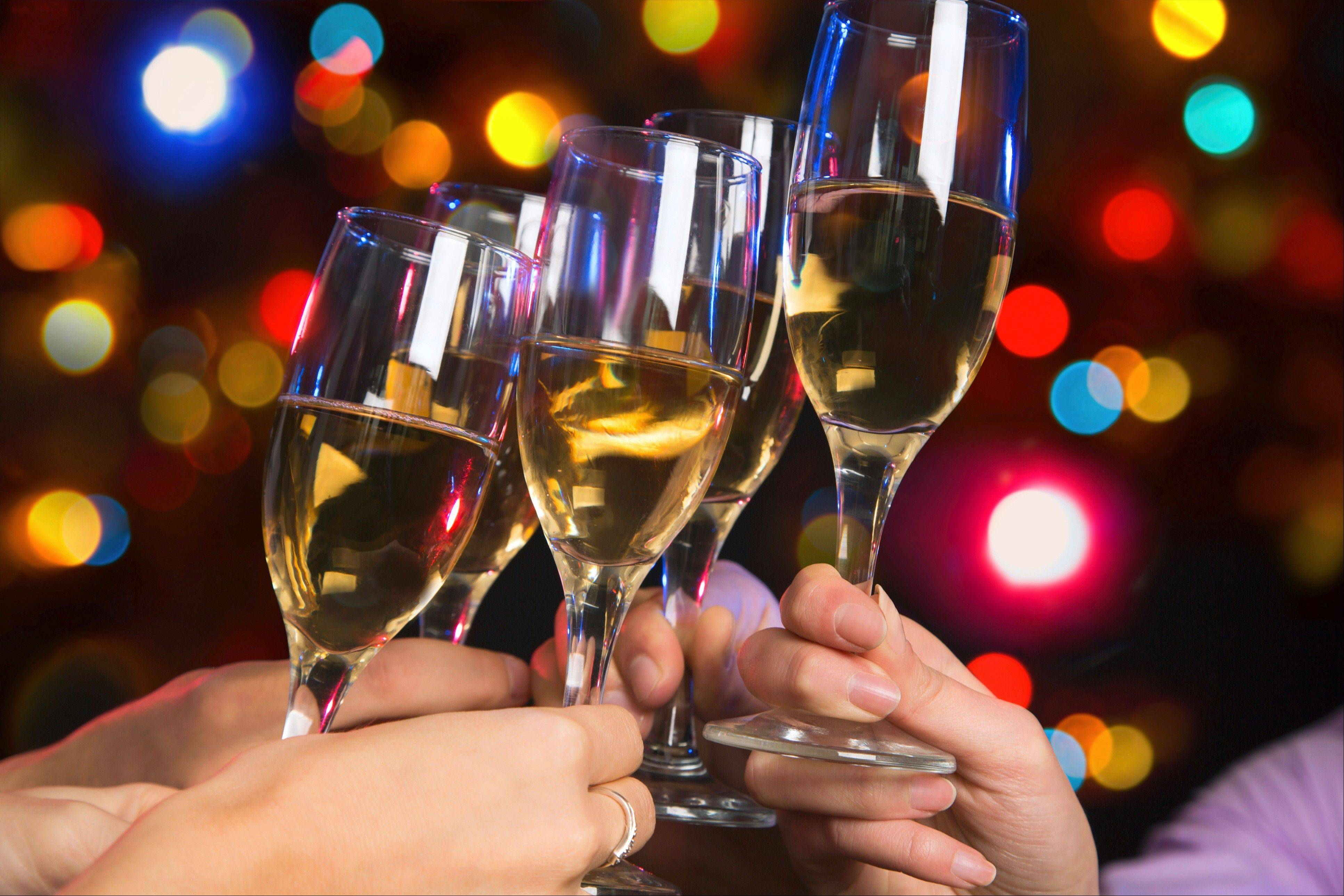 Get a group of friends together to usher in 2014 at a new suburban bar or restaurant.