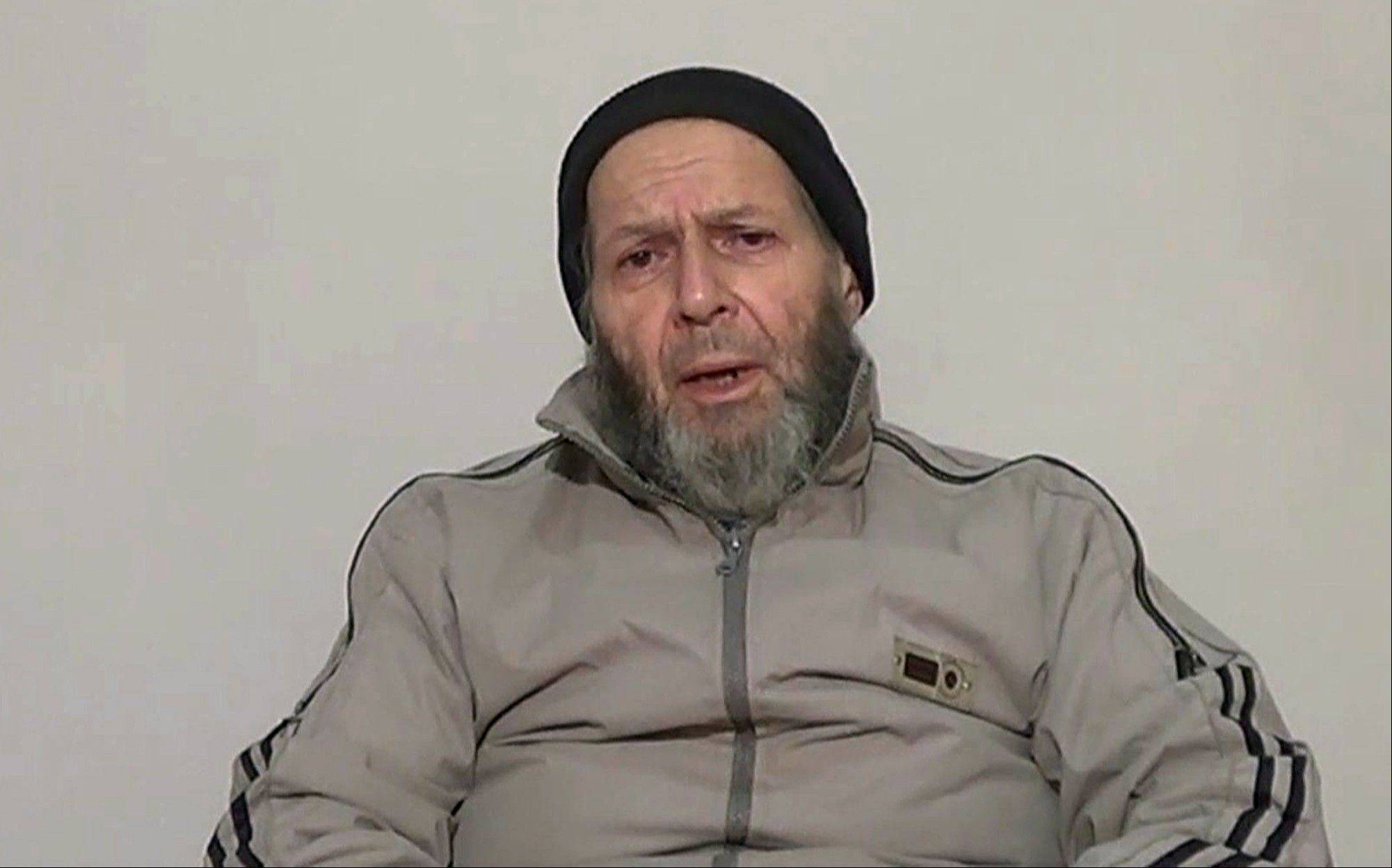 This image made from video released anonymously to reporters in Pakistan, including the Associated Press on Thursday, which is consistent with other AP reporting, shows Warren Weinstein, a 72-year-old American development worker who was kidnapped in Pakistan by al-Qaida more than two years ago, appealing to President Obama to negotiate his release. The video of Weinstein was the first since two videos released in September 2012.