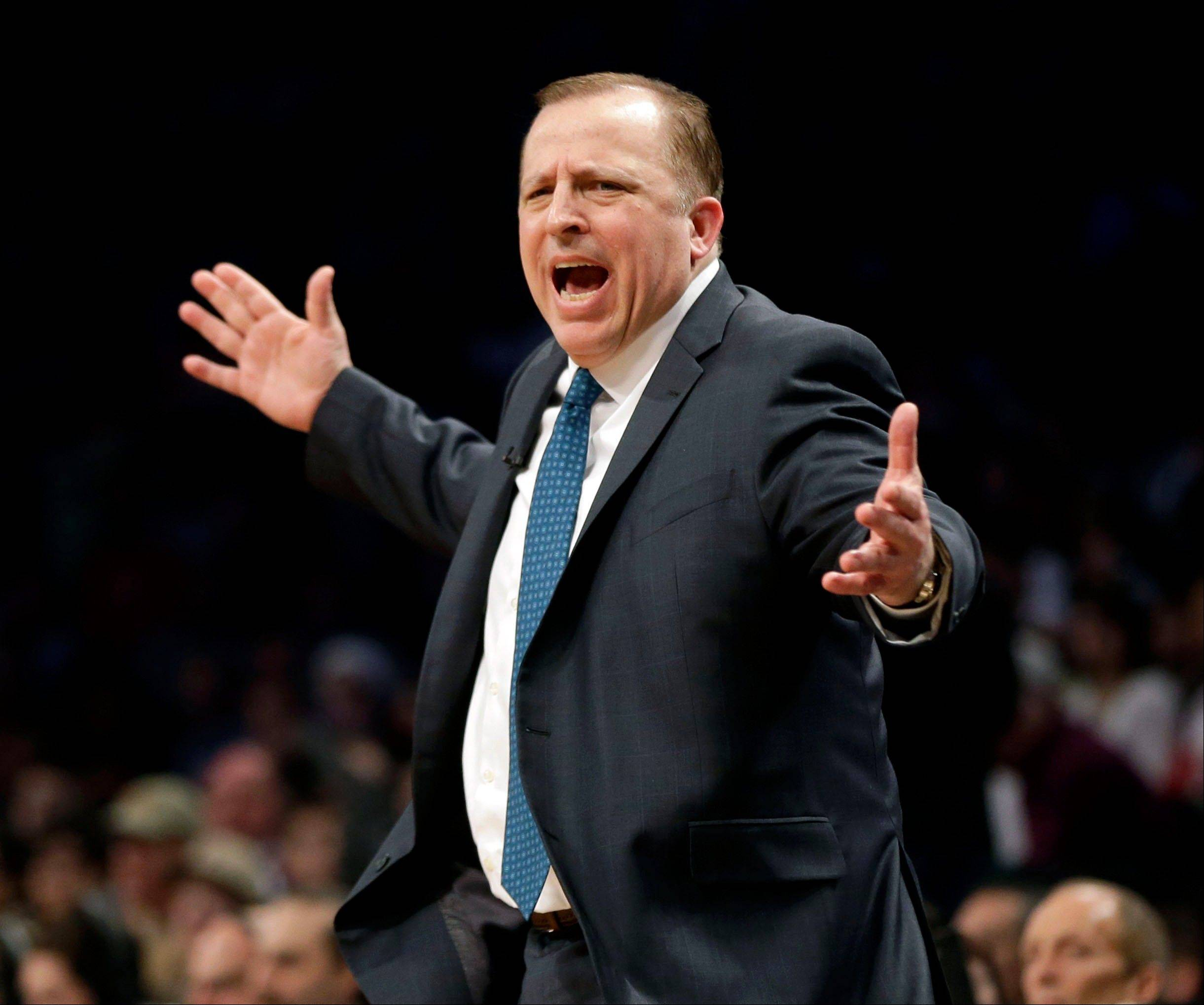 Even Bulls coach Tom Thibodeau might have been wondering what was up with those uniforms worn by his team in its Christmas Day victory over the Brooklyn Nets.