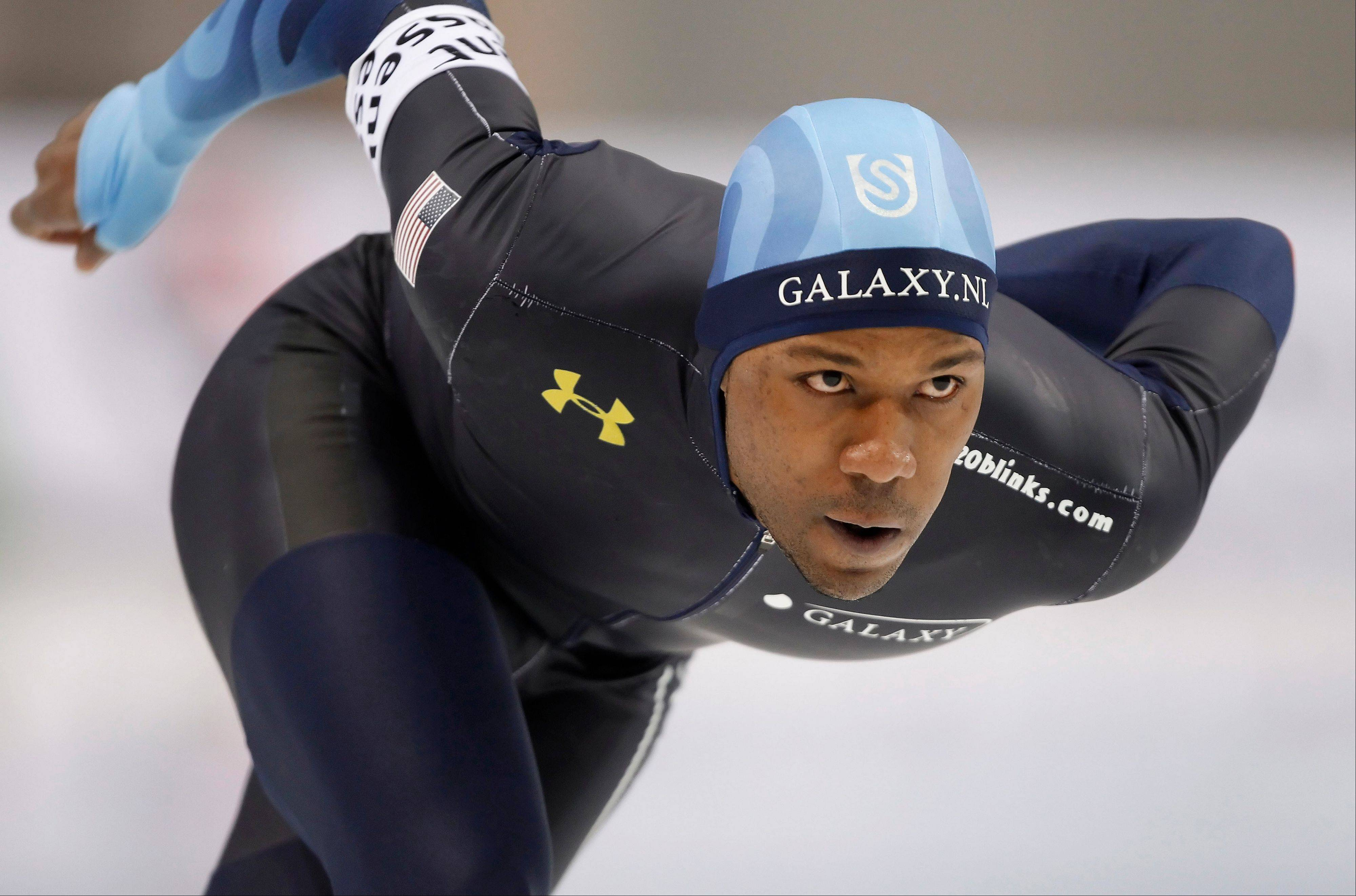 Chicago speedskater Shani Davis has won two Olympic gold medals, but he isn�t guaranteed a spot on the U.S. team.