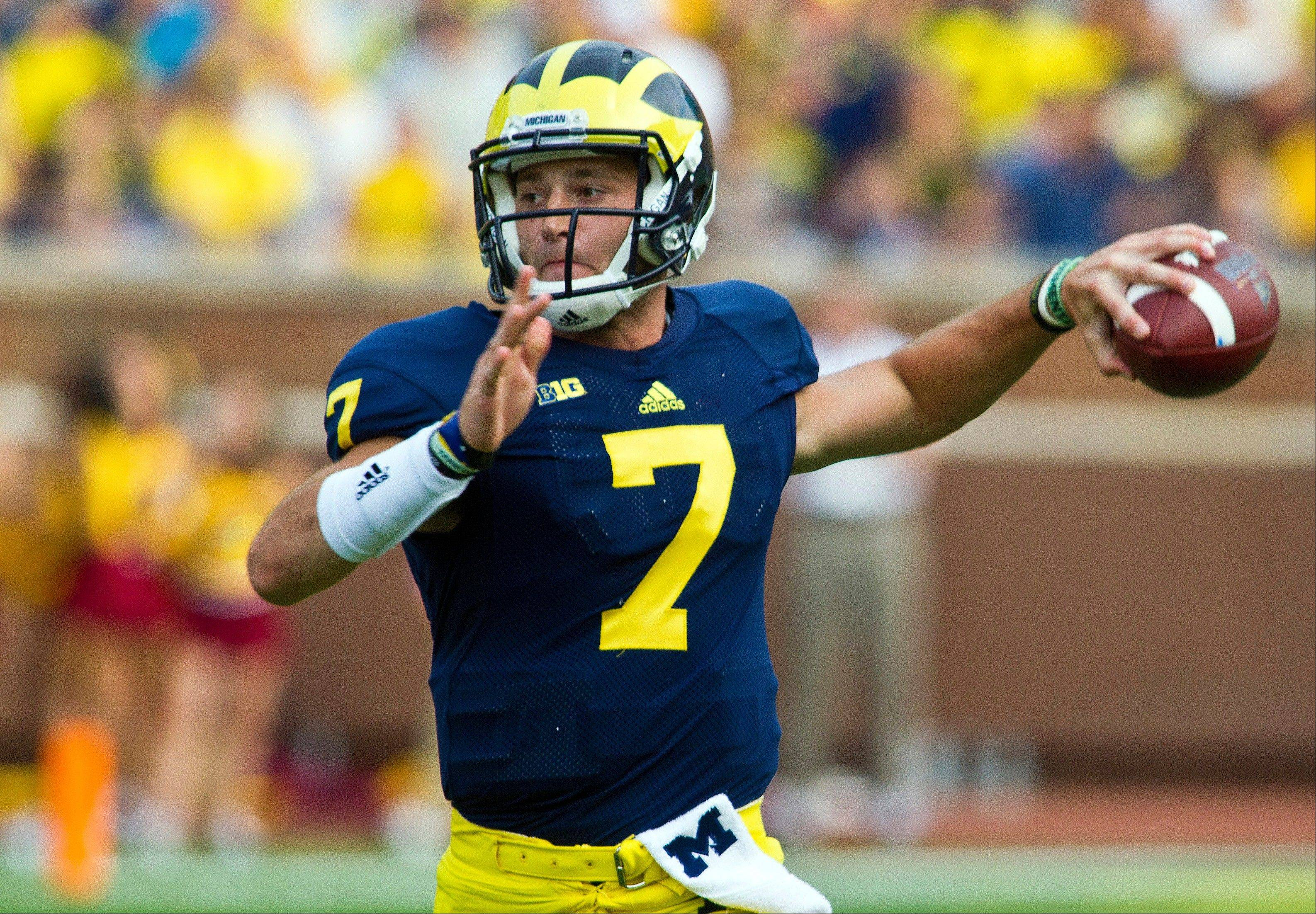 Michigan freshman quarterback Shane Morris will make his first collegiate start in Saturday�s Buffalo Wild Wings Bowl.