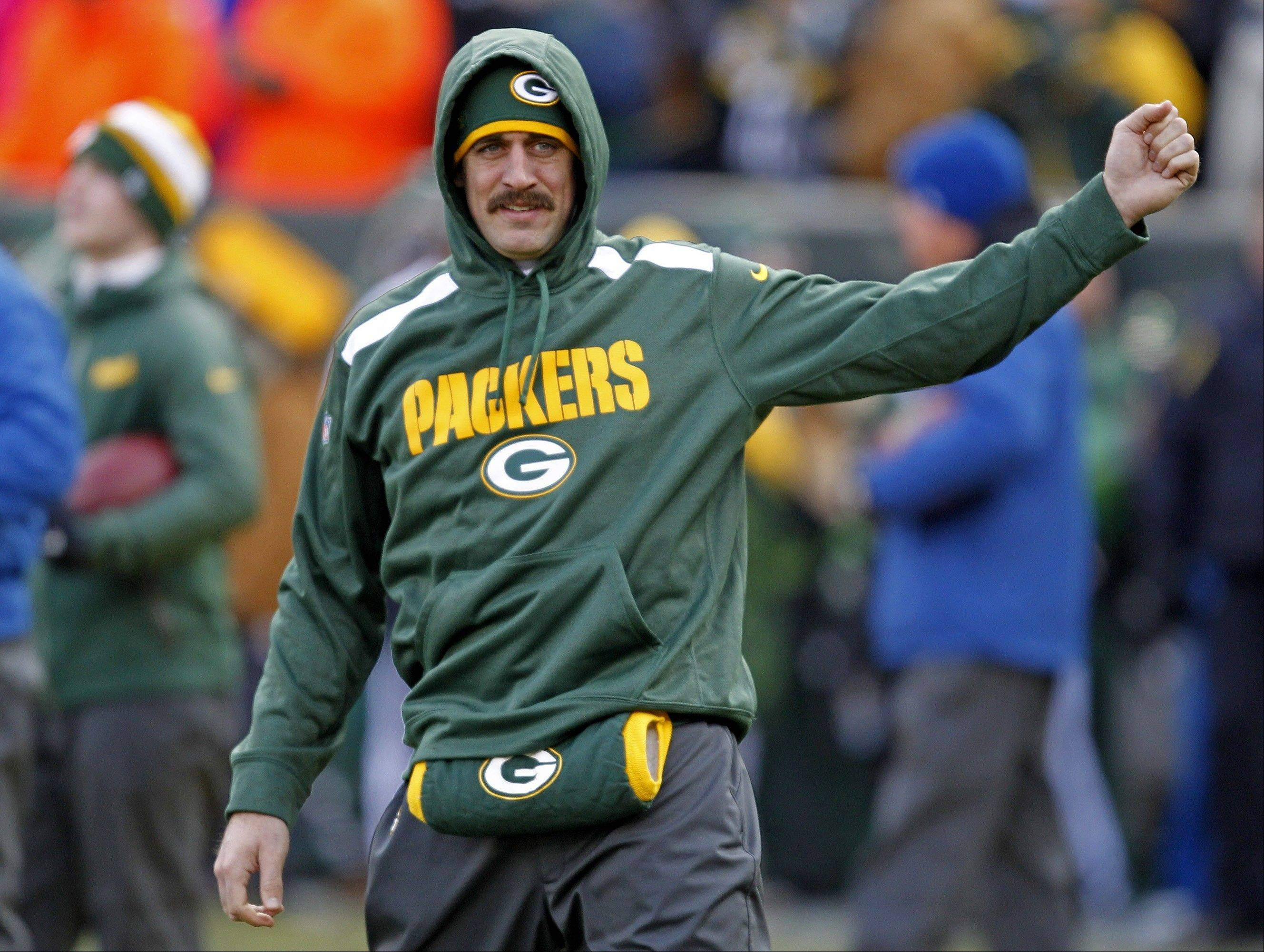 Green Bay Packers quarterback Aaron Rodgers will return to start Sunday�s game for the NFC North title against the Bears.