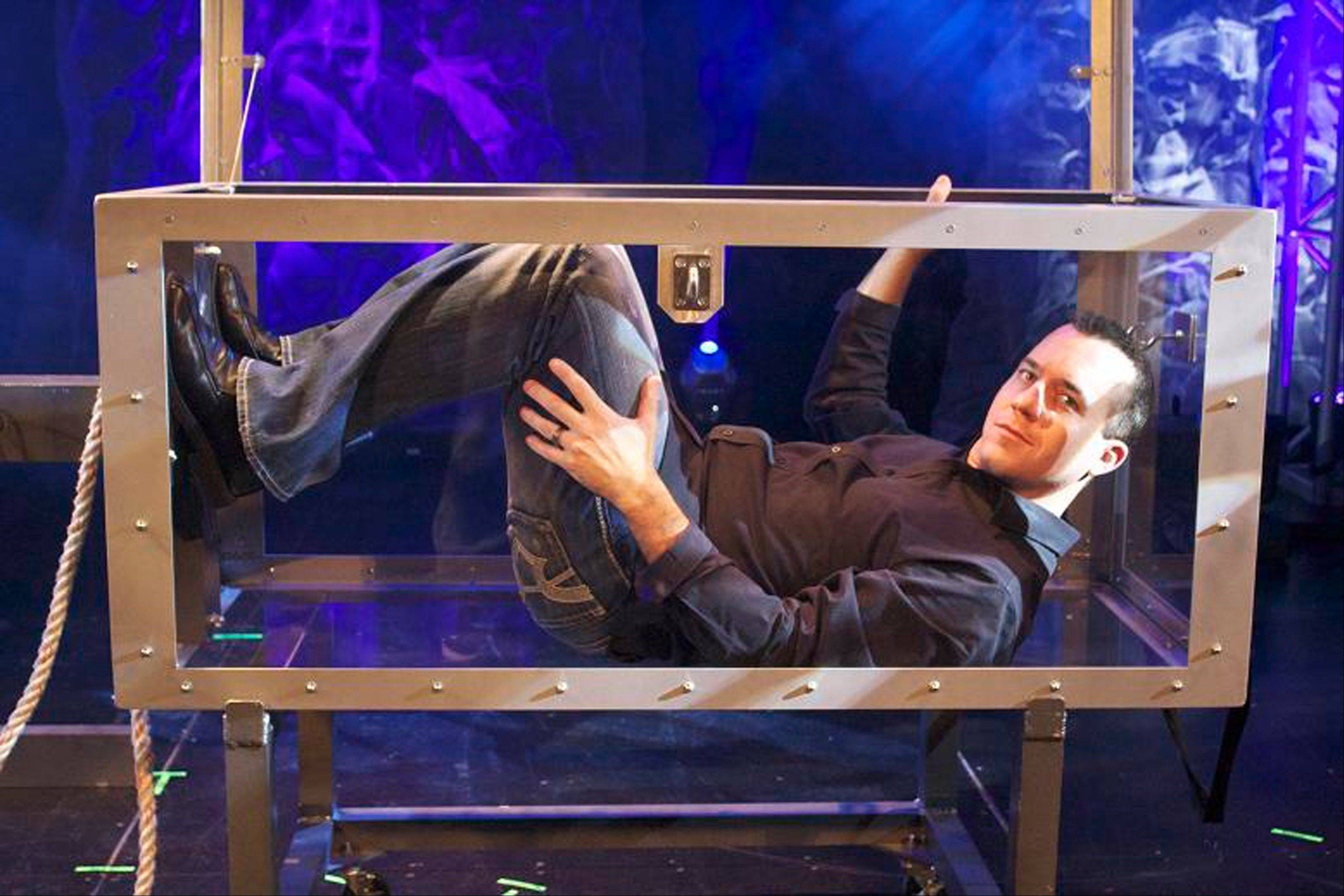 Zion native Bill Blagg will perform feats of magic and illusion during his show Saturday in Aurora.