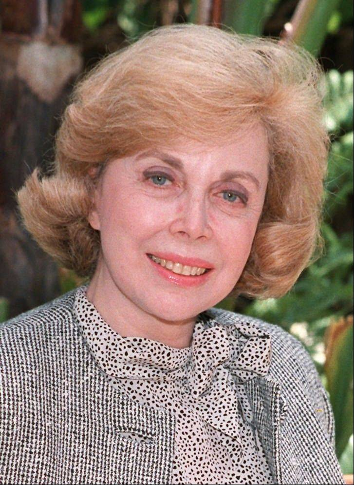 This 1987 file photo shows psychologist Dr. Joyce Brothers. Brothers, the pop psychologist who pioneered the television advice show in the 1950s and enjoyed a long and prolific career as a syndicated columnist, author, and television and film personality, died May 13, 2013.