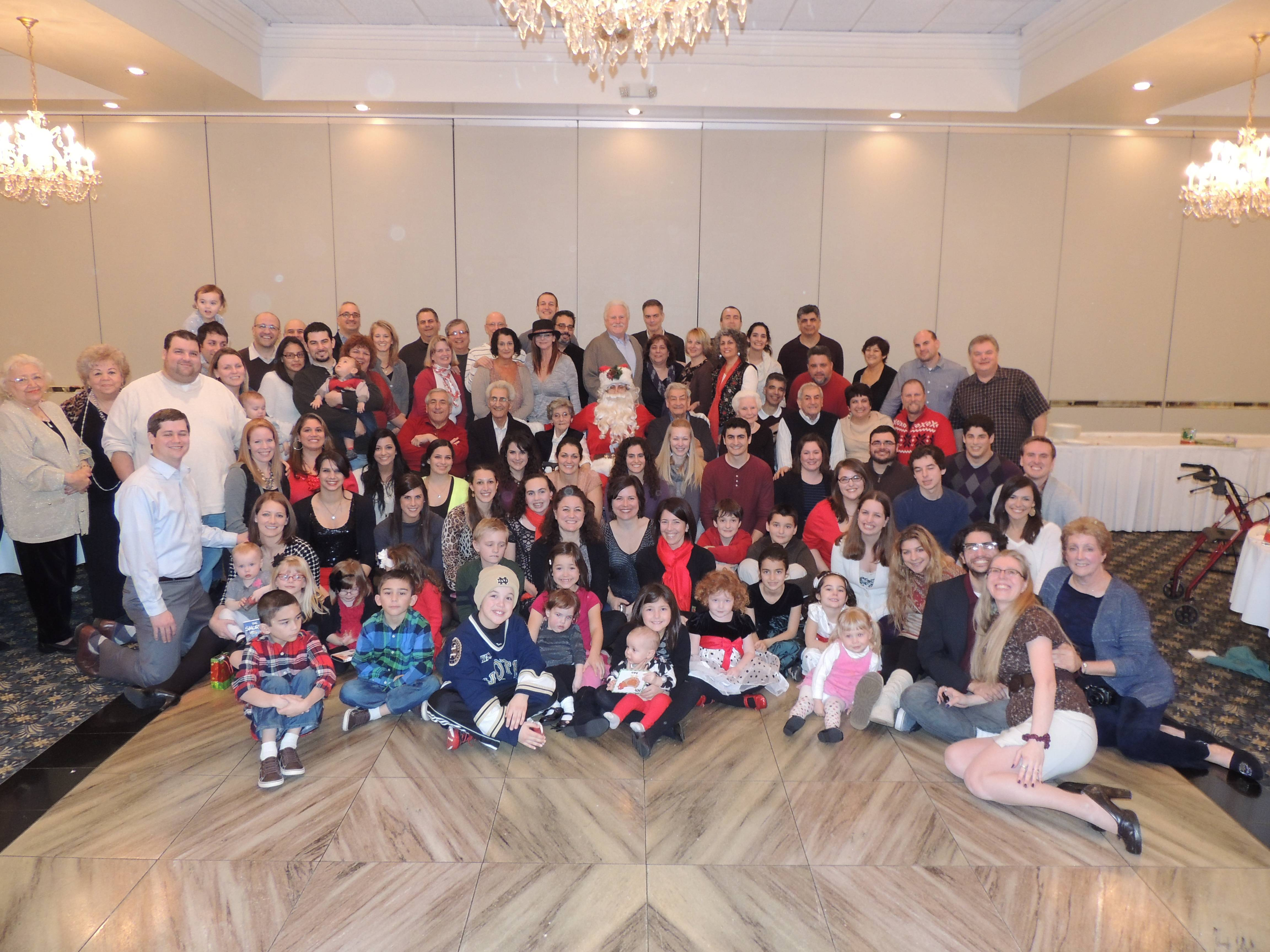 Begun in 1956 as a way to celebrate Christmas together with their growing families, the 57th annual Lupo Family Christmas Party was held on December 22, 2013 at Alta Villa Banquets in Addison.