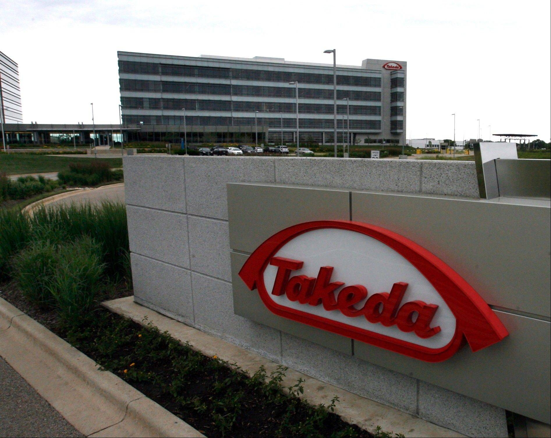 Takeda's Deerfield facilities.