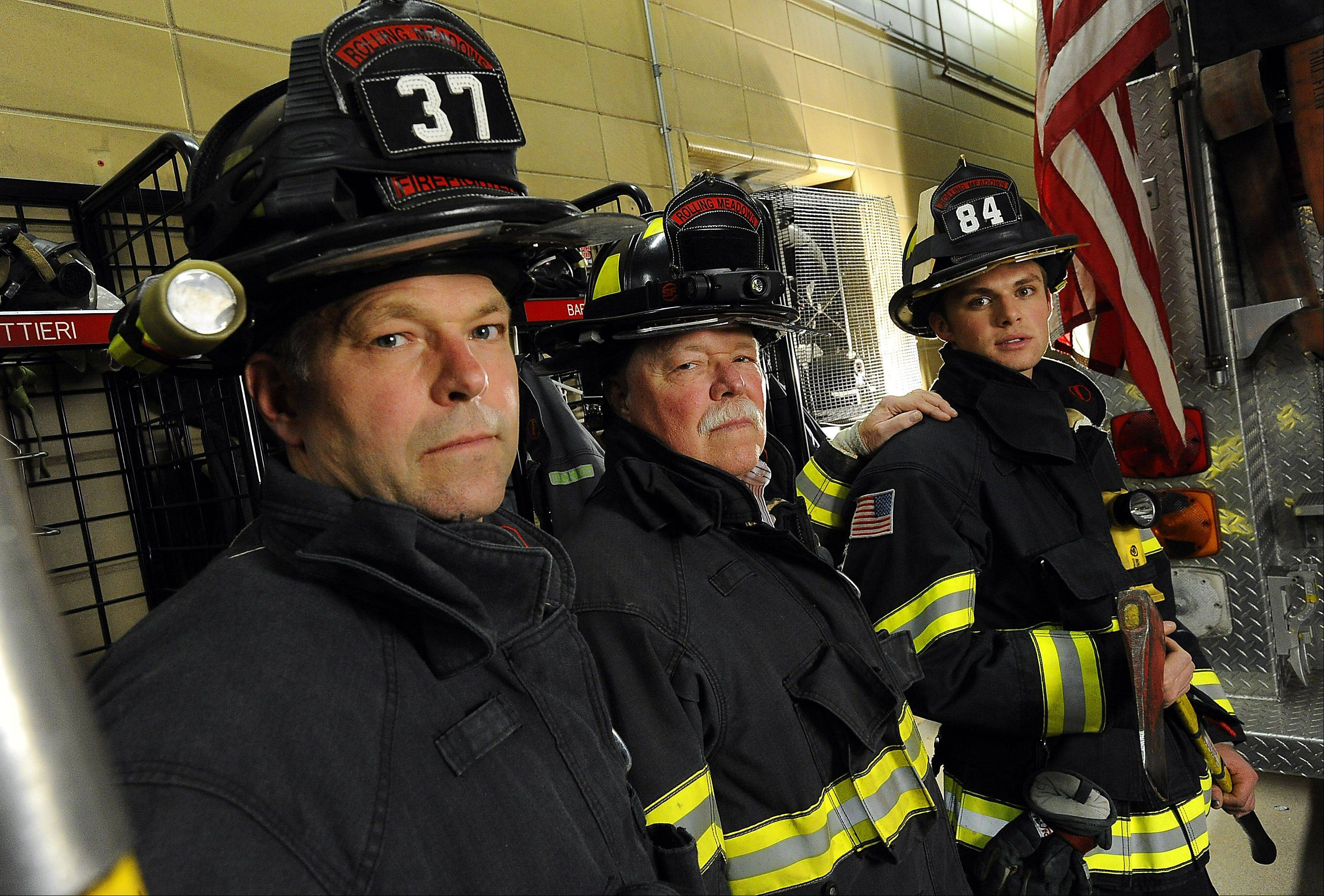 Moving Picture: Firefighting in Rolling Meadows rookie's blood