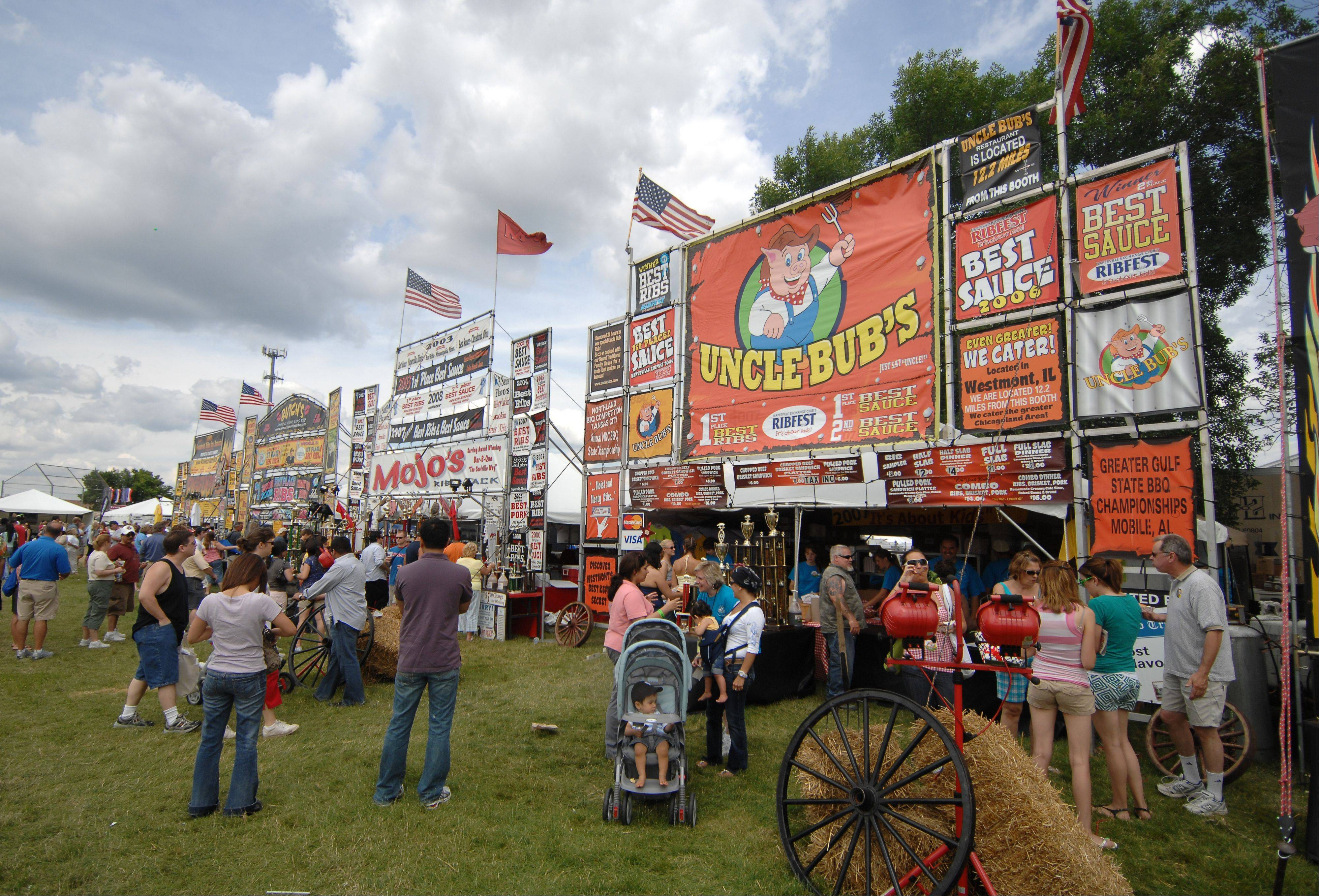 Naperville's Ribfest to donate $548,000 to charity