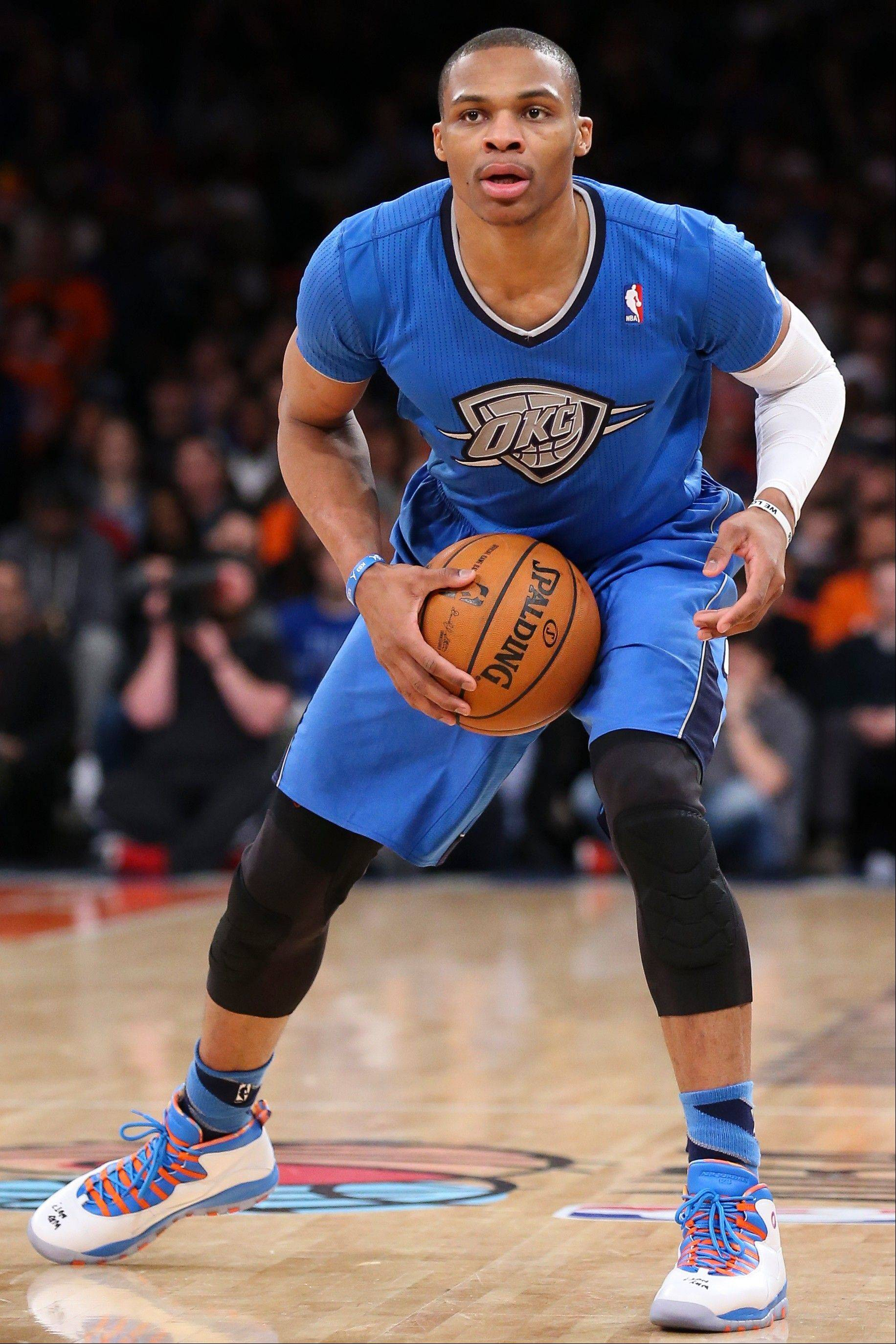 Oklahoma City Thunder guard Russell Westbrook recently had experienced increased swelling in his right knee.