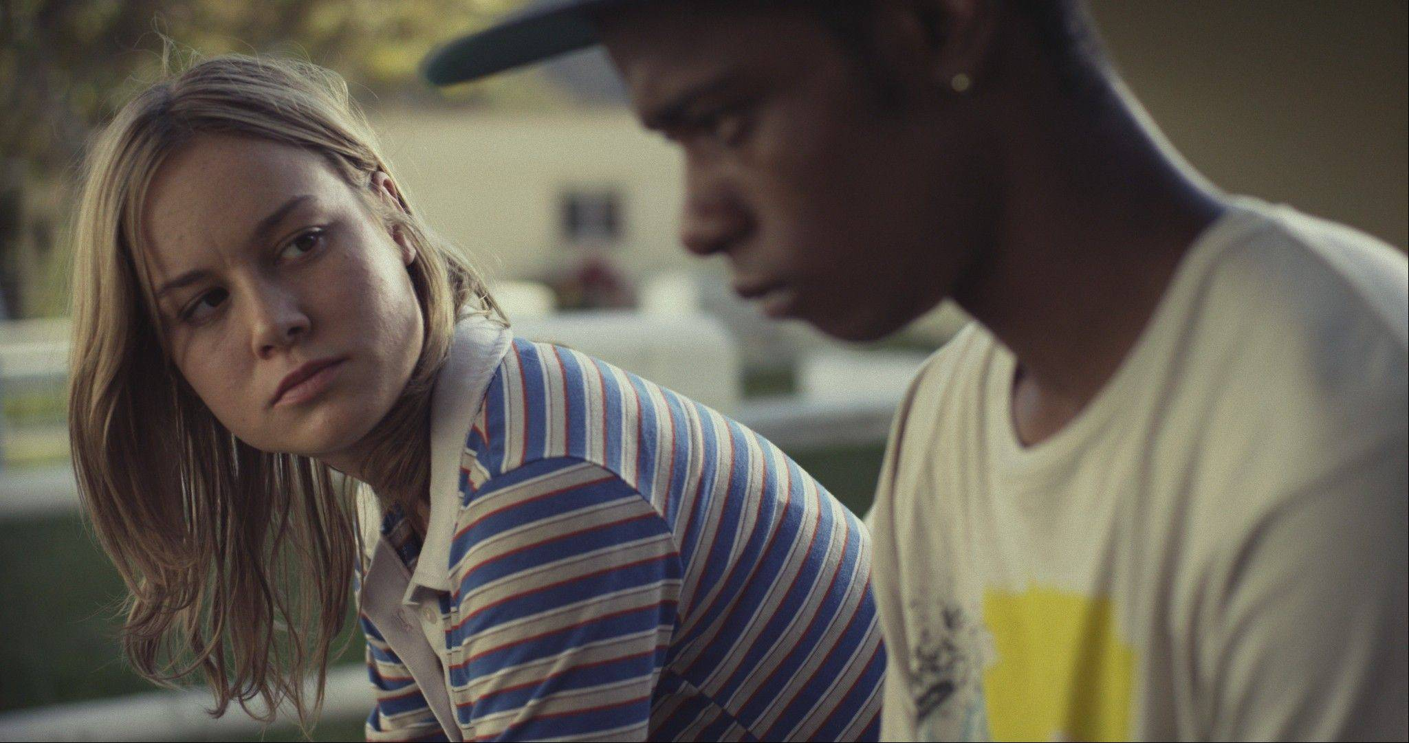 "Grace (Brie Larson) listens to troubled teen in the terrific drama ""Short Term 12."""