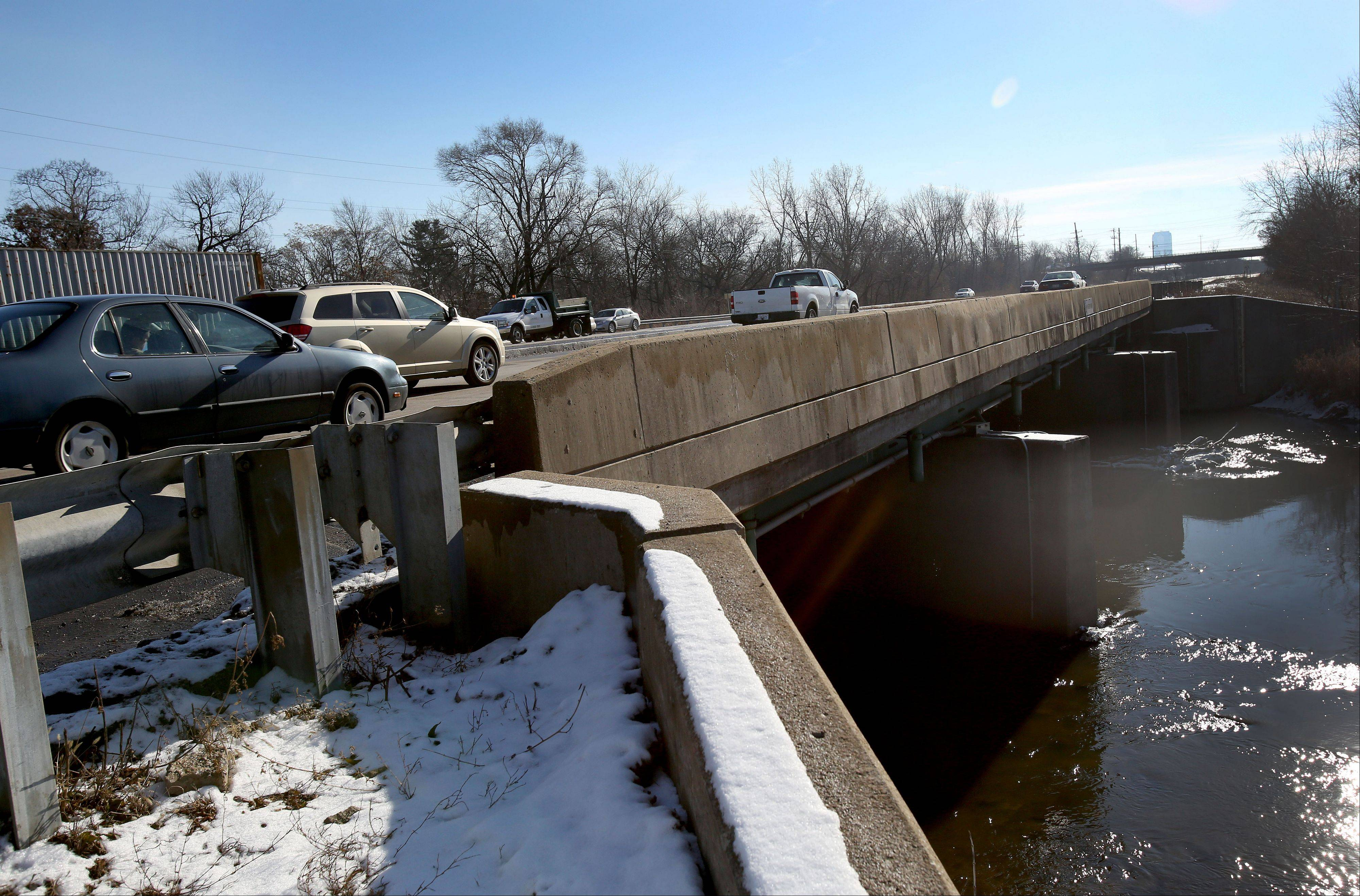 Repairs to the bridge that carries Route 83 over Salt Creek in Villa Park is one of the two area bridge projects state officials announced this week. The other project is in Aurora.