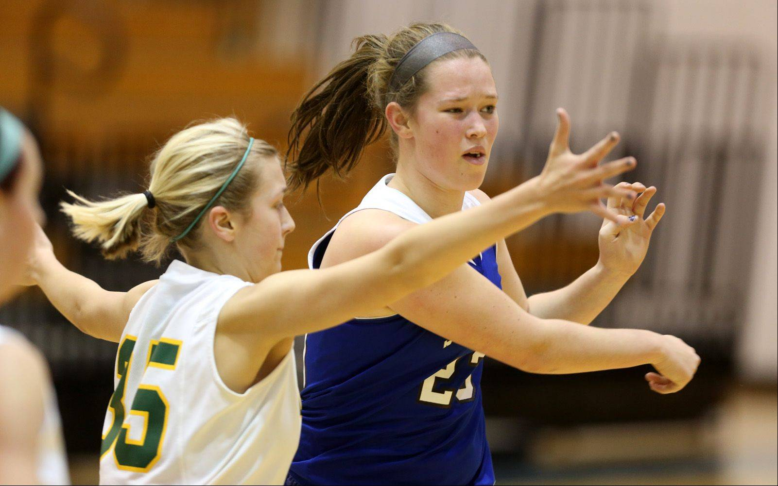 Images from the St. Francis vs. Coal City girls basketball game on Friday, Dec. 27, 2013.