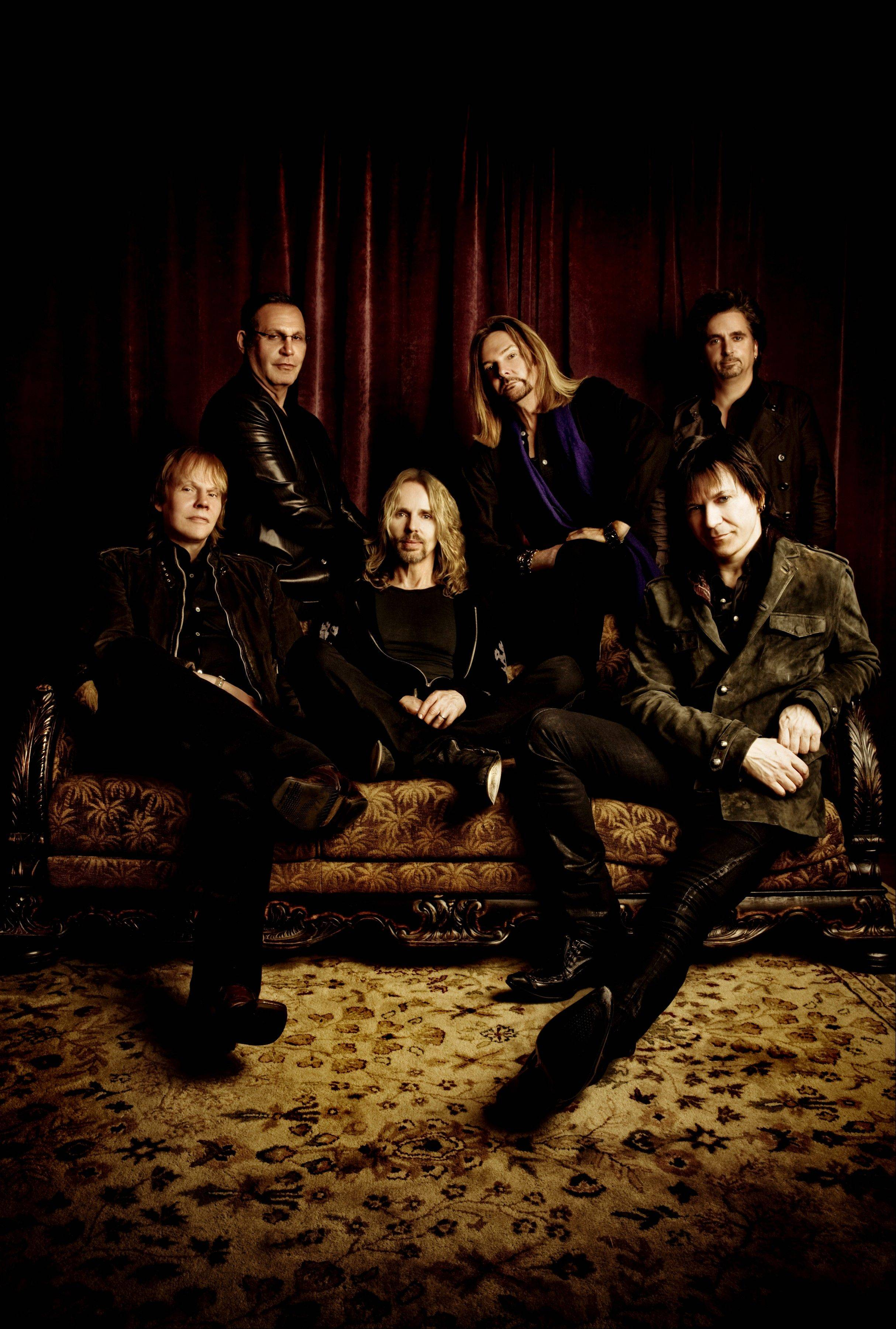 The rock band Styx performs at the Genesee Theatre on Waukegan on Sunday, Dec. 29.
