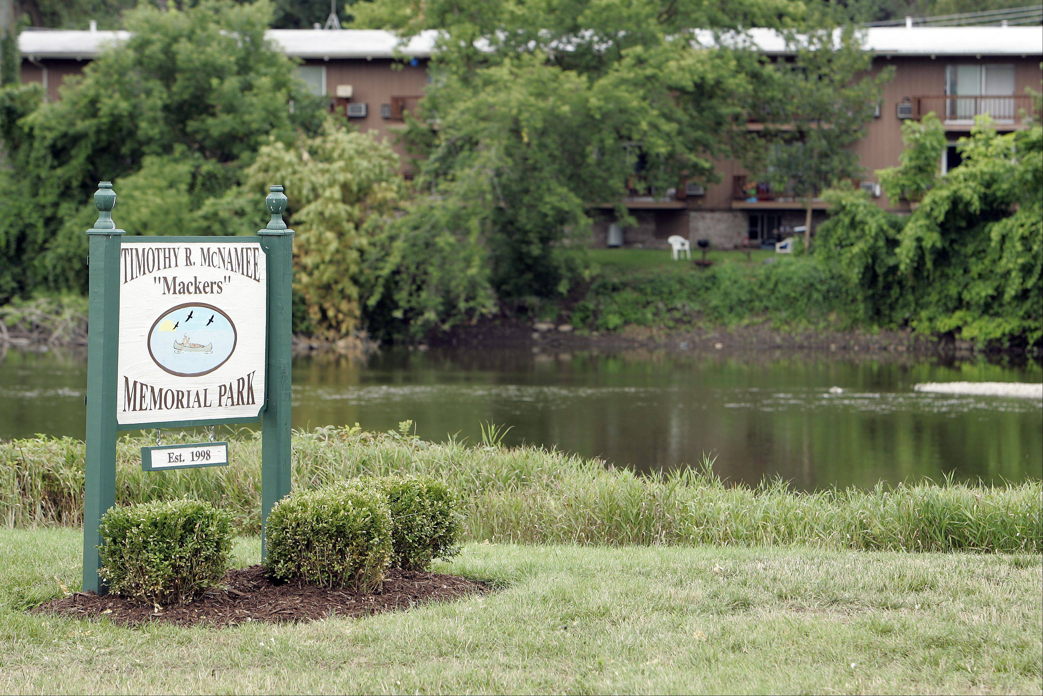 "Timothy R. McNamee ""Mackers"" Memorial Park in Carpentersville features a boat launch. A new study is expected to determine if more are needed as well as other recreational amenities."