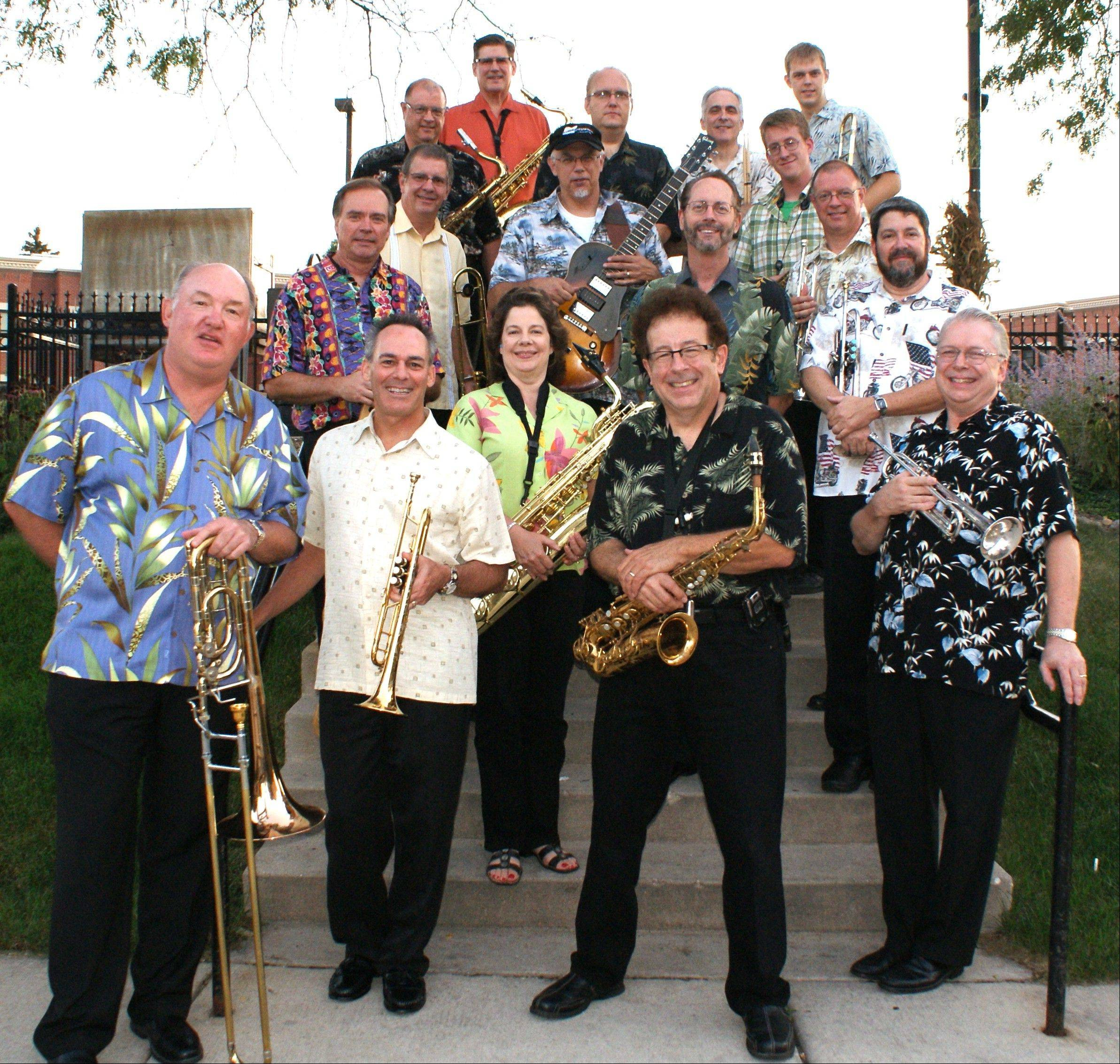 The 17-member Jazz Consortium Big Band is set to headline at Fitzgerald's in Berwyn.