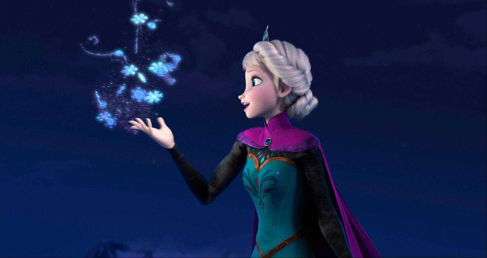 "This image released by Disney shows Elsa the Snow Queen, voiced by Idina Menzel, in a scene from the animated feature ""Frozen."" Disney's animated adventure, ""Frozen,"" took the No. 2 position, earning $28.9 million over the weekend and $248.4 million domestically after six weeks at the multiplex. ""'Frozen' probably had the best release date of the year because they positioned themselves to completely dominate the family film marketplace over the holidays,"" said box-office analyst Paul Dergarabedian of Rentrak. ""To be No. 2 in its sixth week is a total reflection of that."""