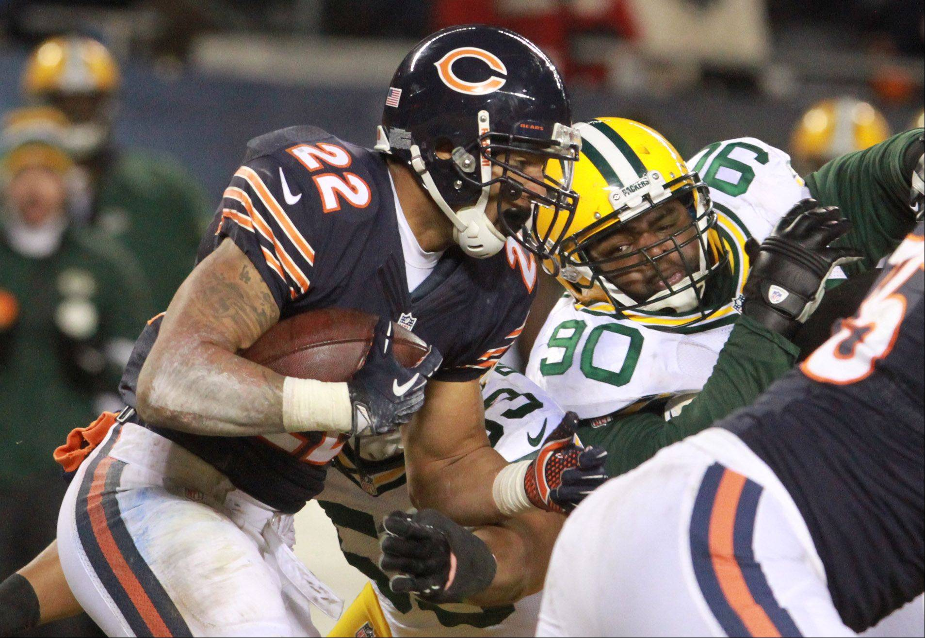 Matt Forte finished the season with 1,933 yards from scrimmage, the second-most ever by a Bears player.