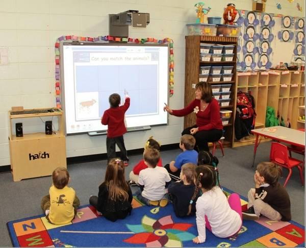 Technology Comes To Schaumburg Parks Preschool Classrooms