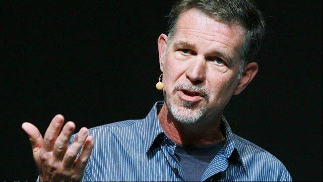 Netflix Chairman and CEO Reed Hastings