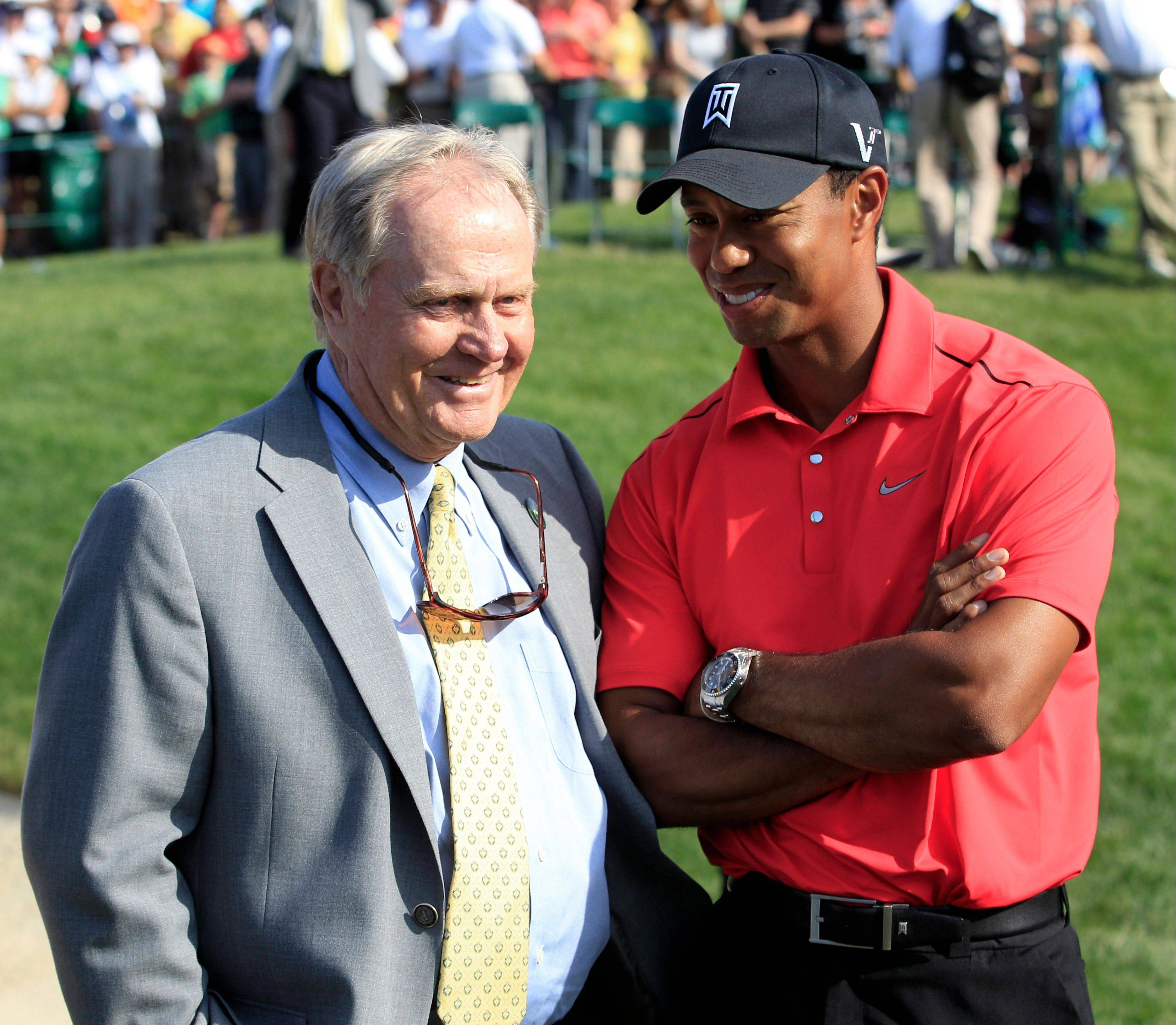 Four years ago, with a major championship lineup of courses that favored Tiger Woods, golf legend Jack Nicklaus said it would be a �big year� for Woods if he was going to break Nicklaus� record. The same might be true for 2014, but Woods� age (38) might be as important as where the majors are played.